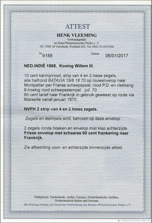 Lot 5 - Netherlands and Former Territories dutch east indies -  Corinphila veilingen Auction 236: Netherlands Colonies - The J.F. de Beaufort collection