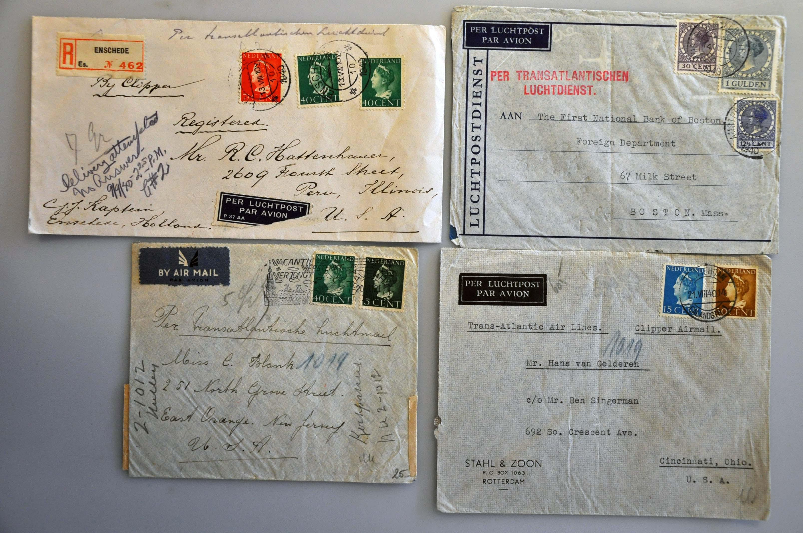 Lot 1020 - Topics and Miscellaneous world war II -  Corinphila veilingen Auction 235: Postal History WW2 - The Stefan Drukker Collection