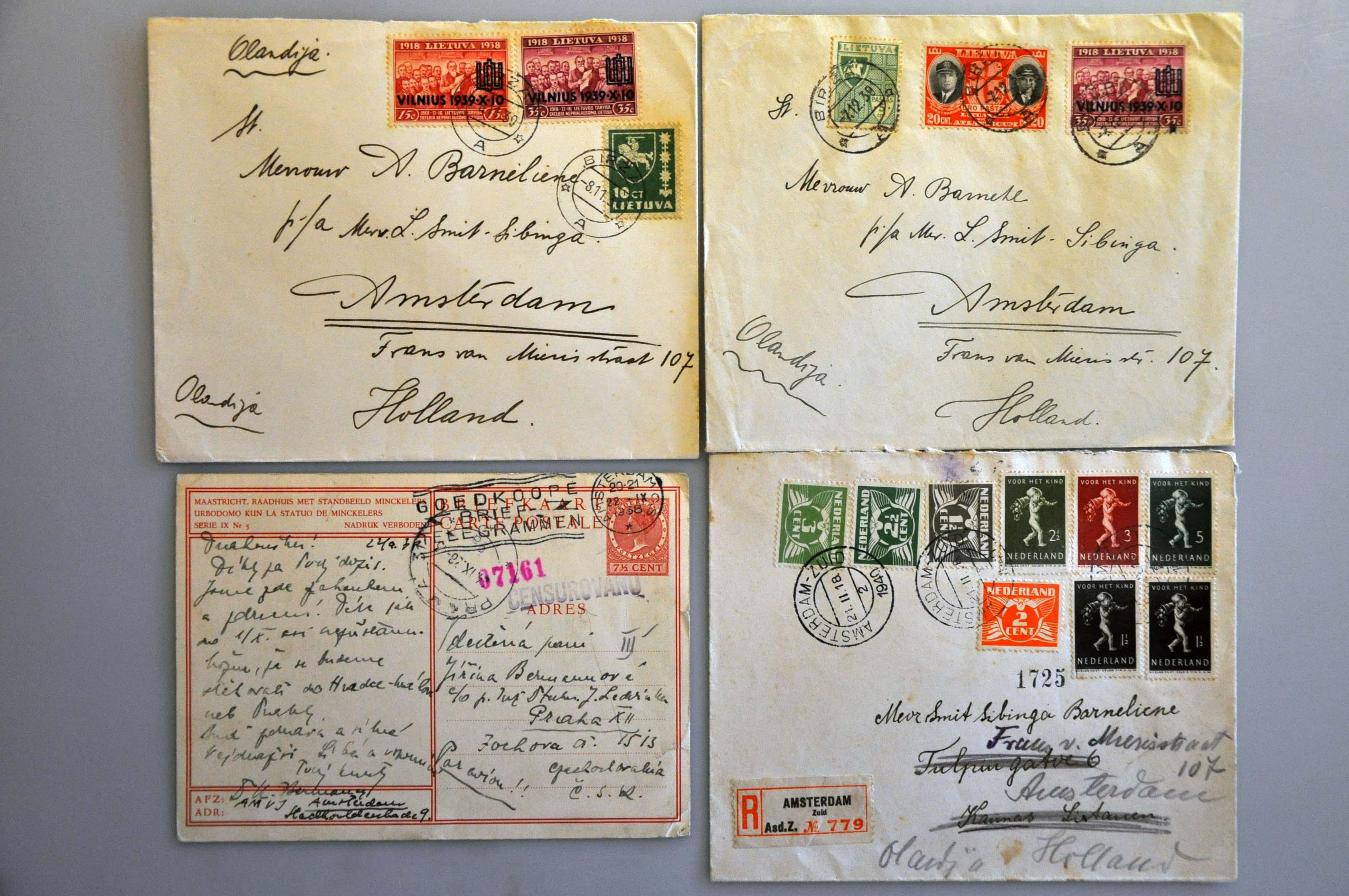 Lot 1016 - Topics and Miscellaneous world war II -  Corinphila veilingen Auction 235: Postal History WW2 - The Stefan Drukker Collection
