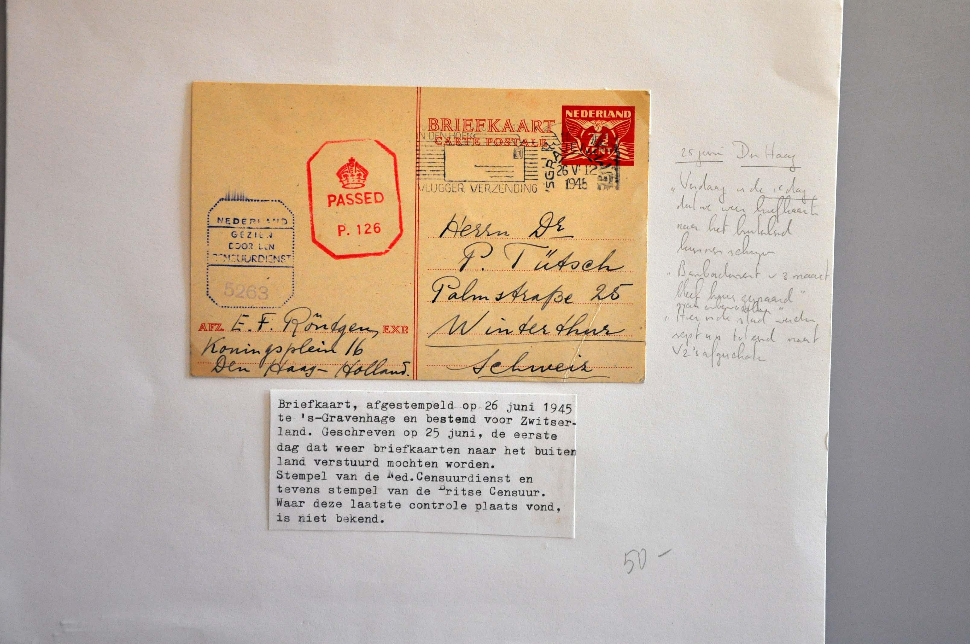 Lot 1022 - Topics and Miscellaneous world war II -  Corinphila veilingen Auction 235: Postal History WW2 - The Stefan Drukker Collection