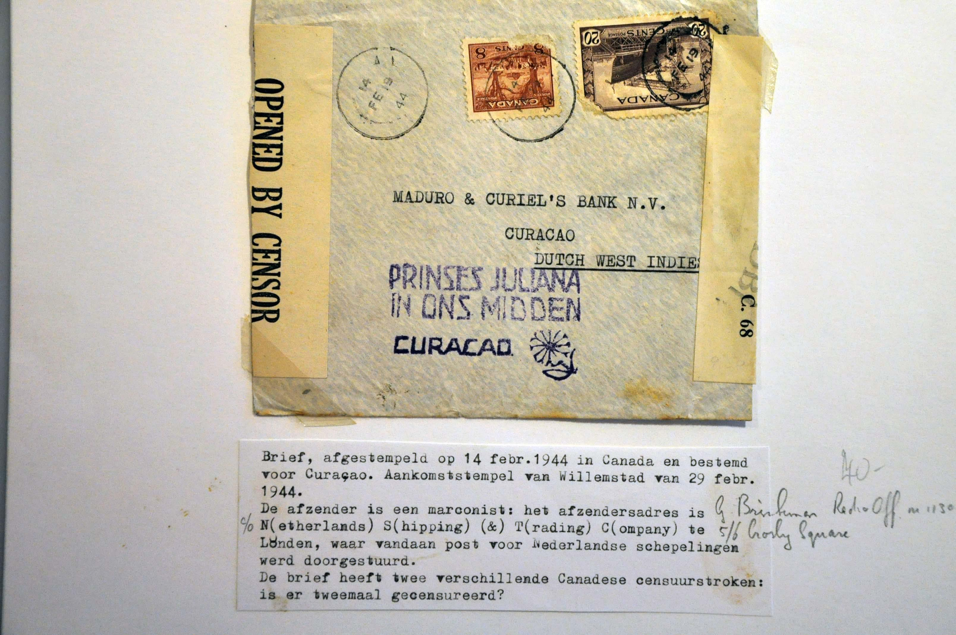 Lot 1009 - Topics and Miscellaneous world war II -  Corinphila veilingen Auction 235: Postal History WW2 - The Stefan Drukker Collection
