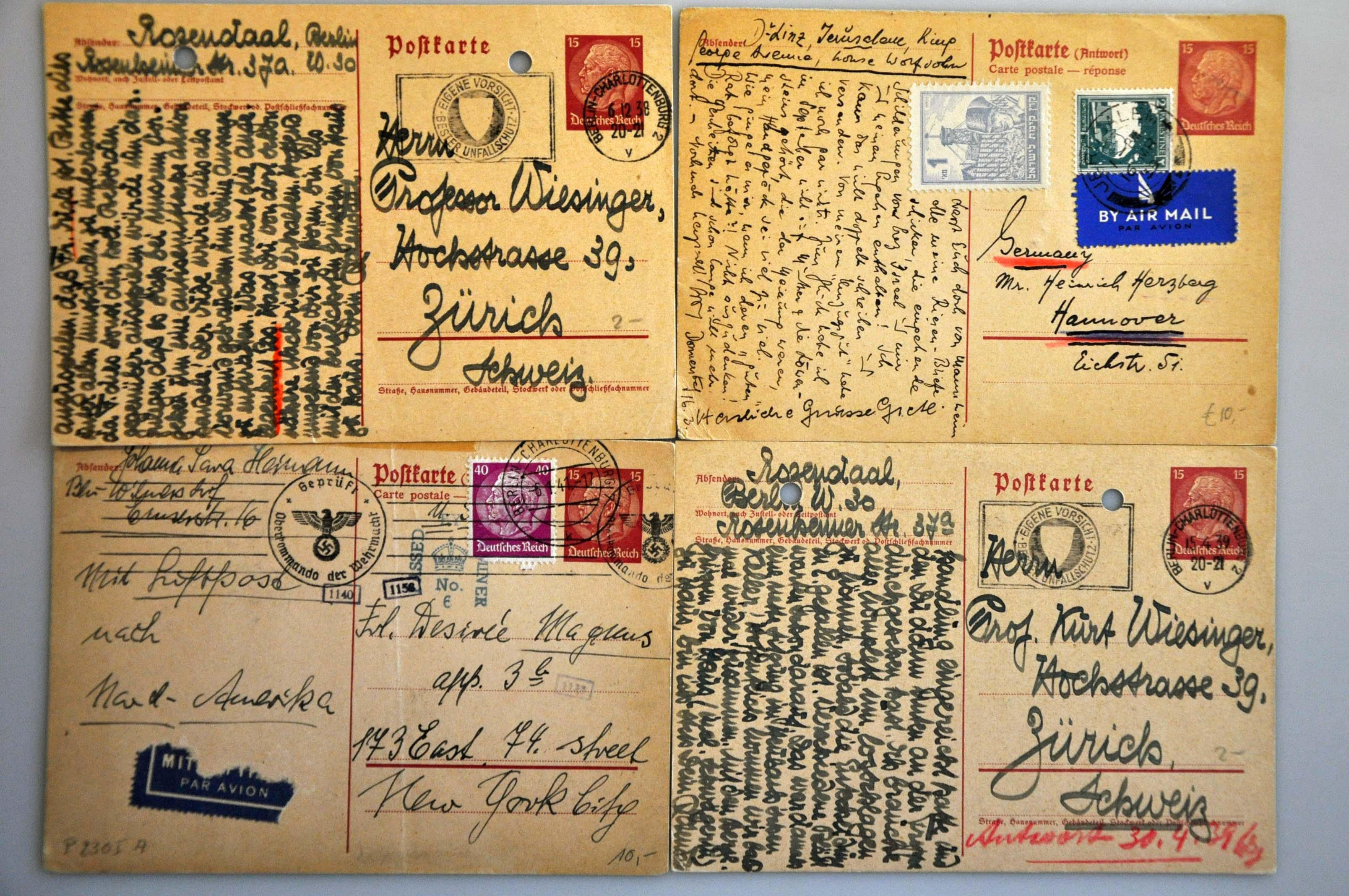 Lot 1000 - Topics and Miscellaneous world war II -  Corinphila veilingen Auction 235: Postal History WW2 - The Stefan Drukker Collection