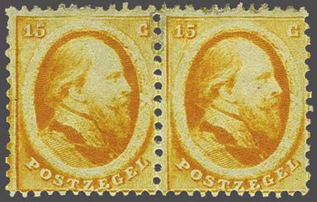 Lot 257 - Netherlands and Former Territories NL 1864 King William III -  Corinphila veilingen Auction 233: General sale