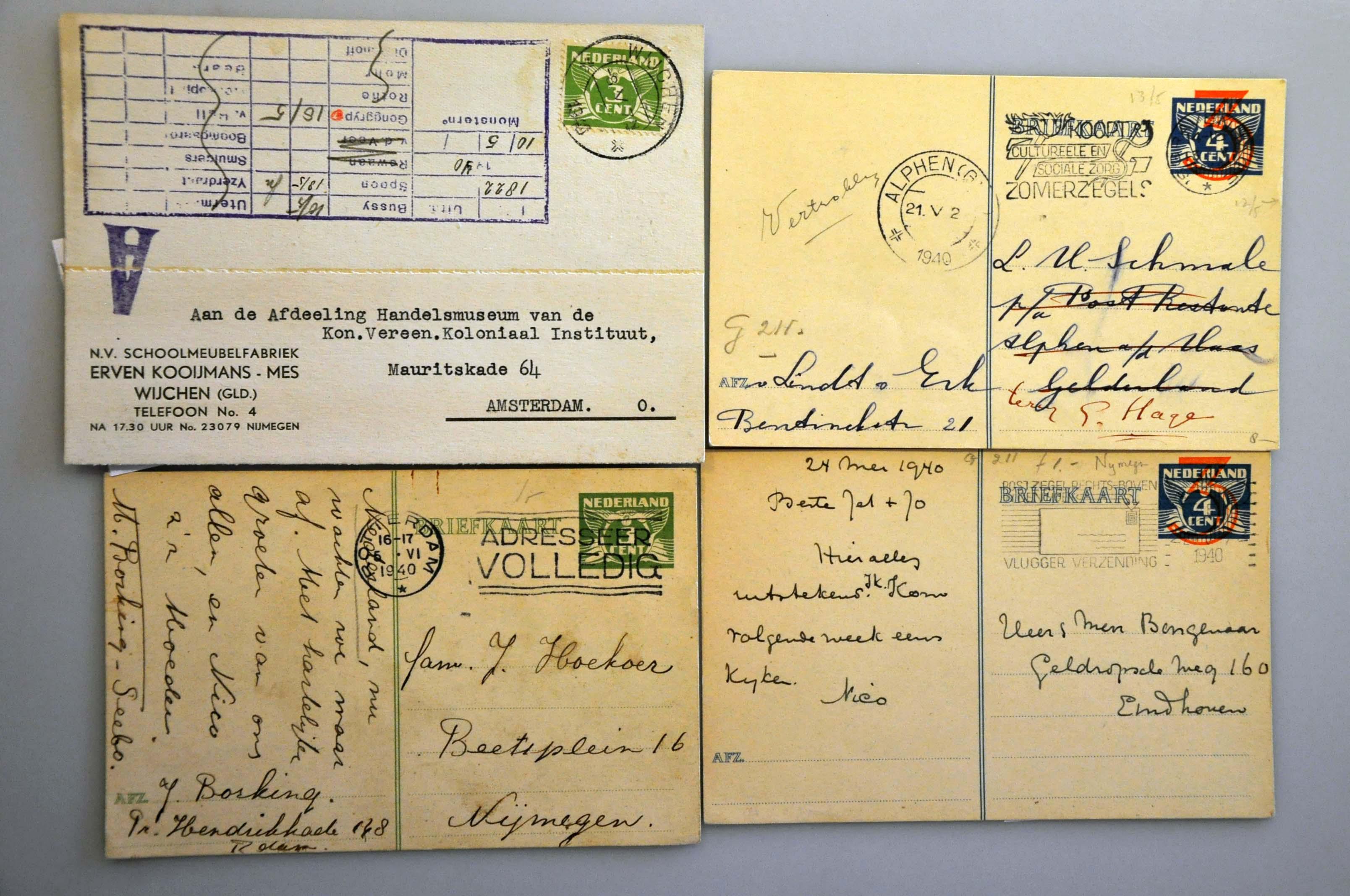 Lot 1012 - Topics and Miscellaneous world war II -  Corinphila veilingen Auction 235: Postal History WW2 - The Stefan Drukker Collection