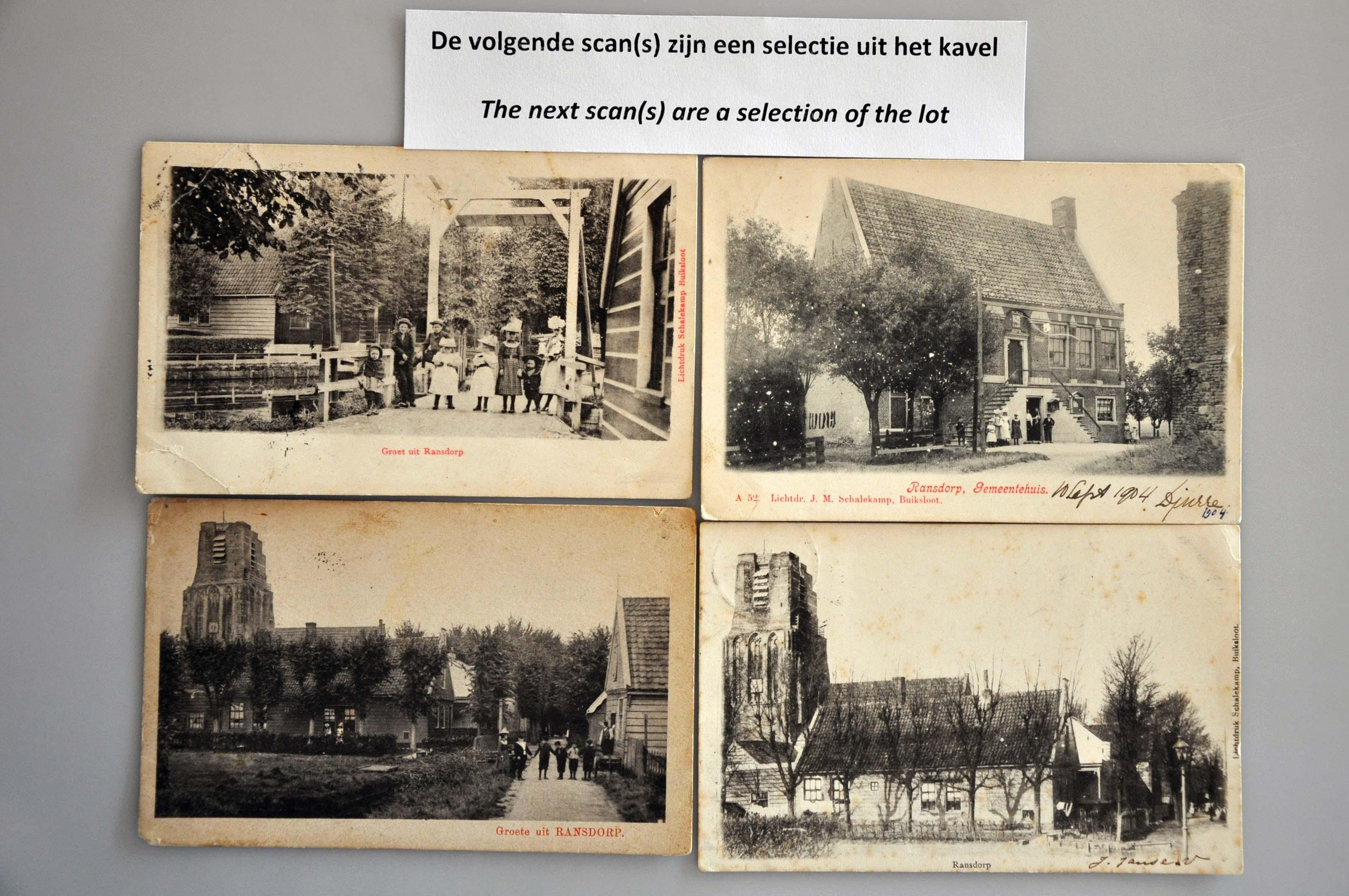 Lot 1818 - Netherlands and Former Territories NL Noord-Holland -  Corinphila veilingen Auction 234: Coins and picture postcard auction