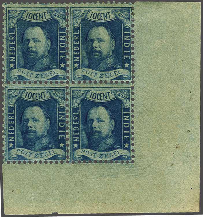 Lot 4 - Netherlands and Former Territories dutch east indies -  Corinphila veilingen Auction 236: Netherlands Colonies - The J.F. de Beaufort collection