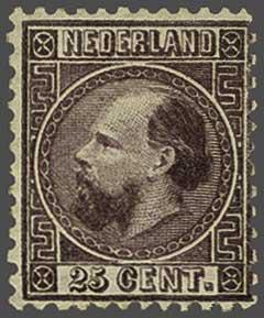 Lot 259 - Netherlands and Former Territories NL 1867 King William III -  Corinphila veilingen Auction 233: General sale