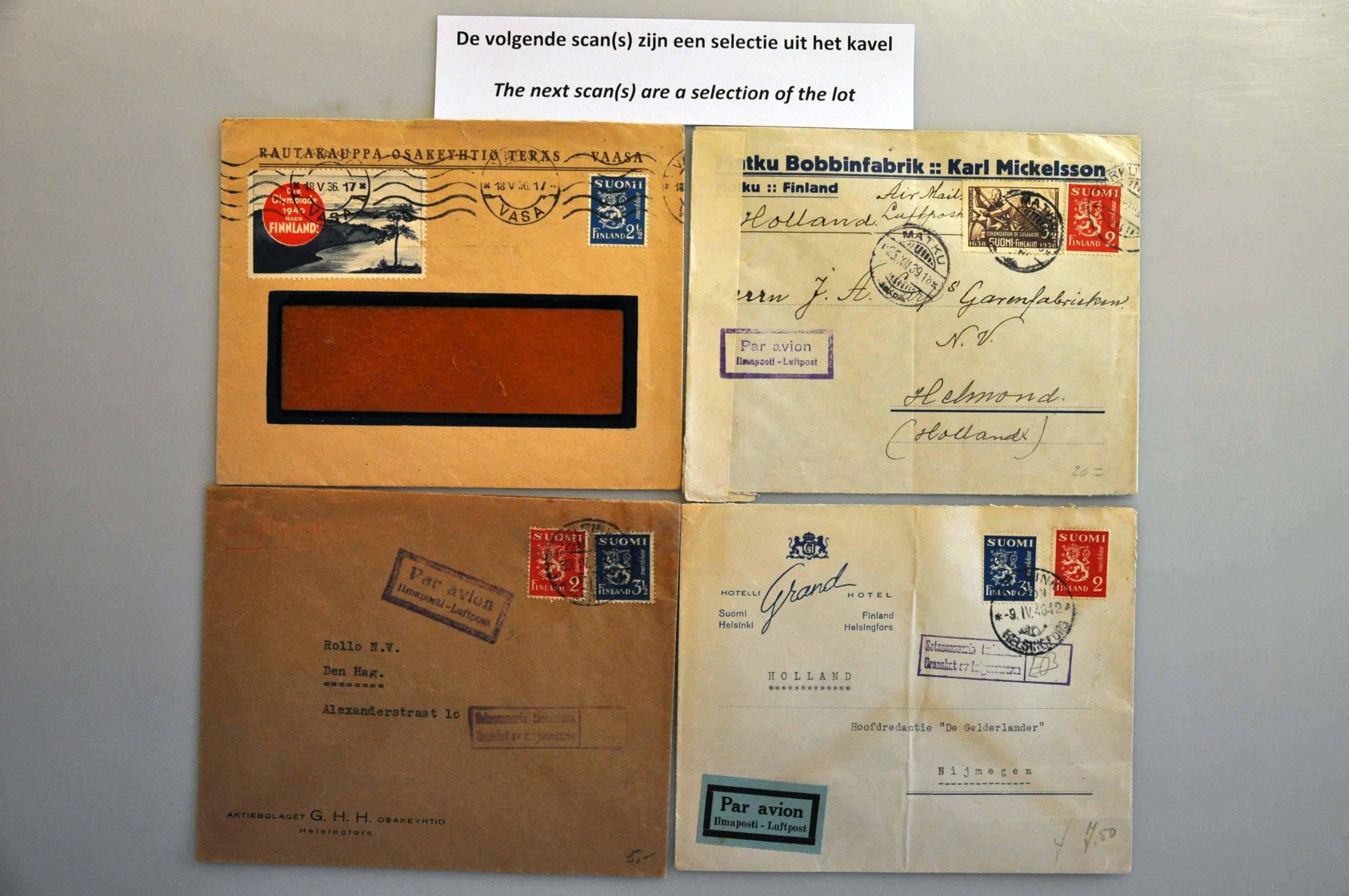 Lot 1018 - Topics and Miscellaneous world war II -  Corinphila veilingen Auction 235: Postal History WW2 - The Stefan Drukker Collection