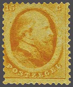 Lot 255 - Netherlands and Former Territories NL 1864 King William III -  Corinphila veilingen Auction 233: General sale