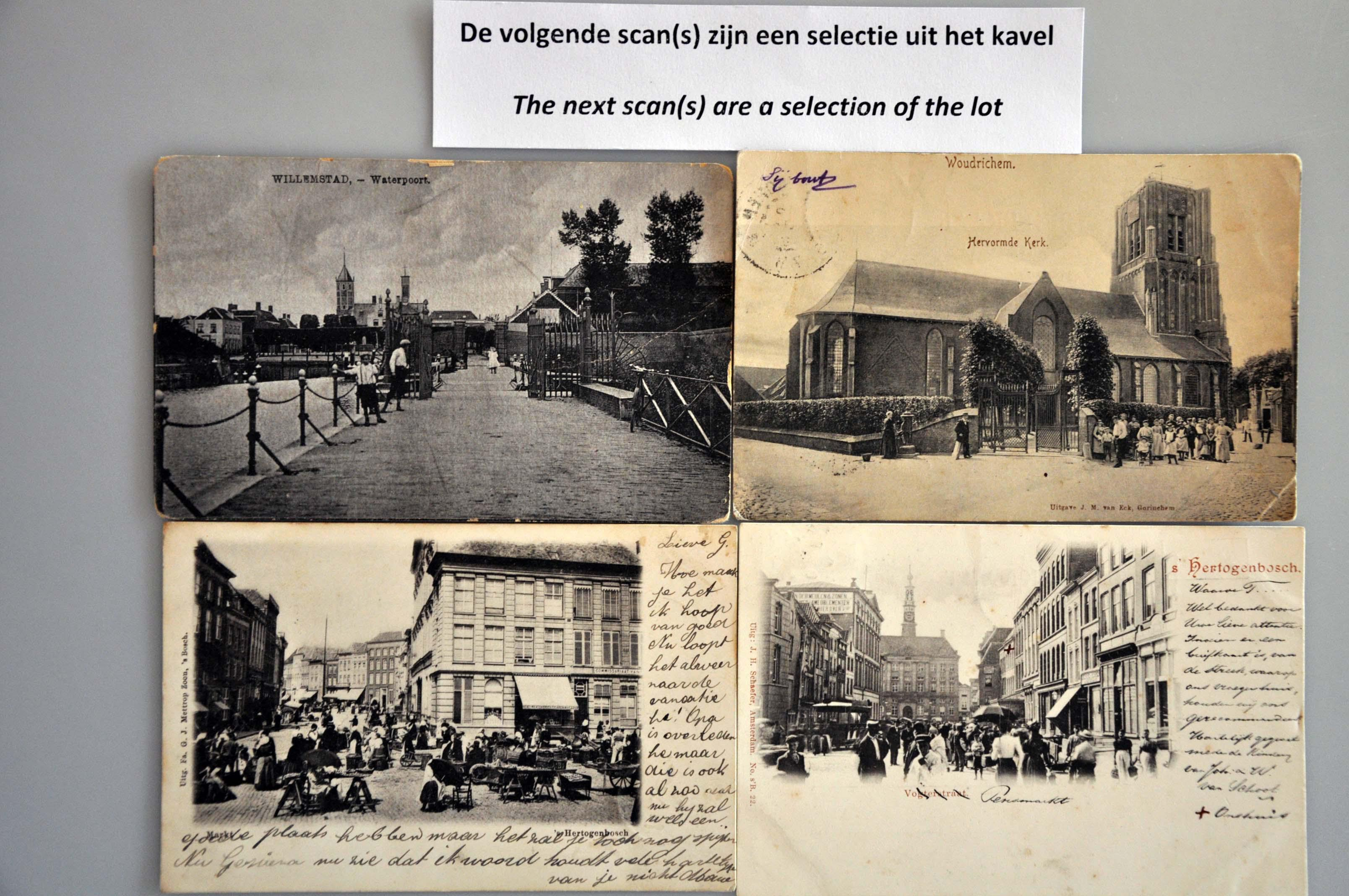 Lot 1820 - Netherlands and Former Territories NL Noord-Brabant -  Corinphila veilingen Auction 234: Coins and picture postcard auction