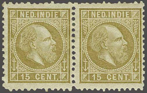 Lot 18 - Netherlands and Former Territories dutch east indies -  Corinphila veilingen Auction 236: Netherlands Colonies - The J.F. de Beaufort collection