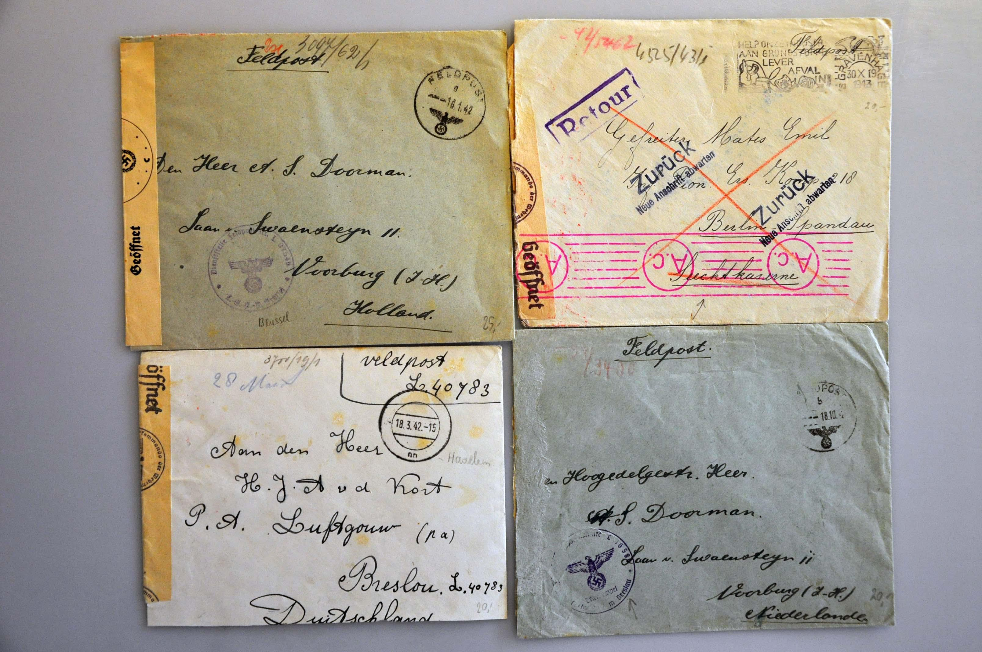 Lot 1017 - Topics and Miscellaneous world war II -  Corinphila veilingen Auction 235: Postal History WW2 - The Stefan Drukker Collection