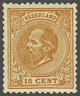 Lot 273 - Netherlands and Former Territories NL 1872 King William III -  Corinphila veilingen Auction 233: General sale