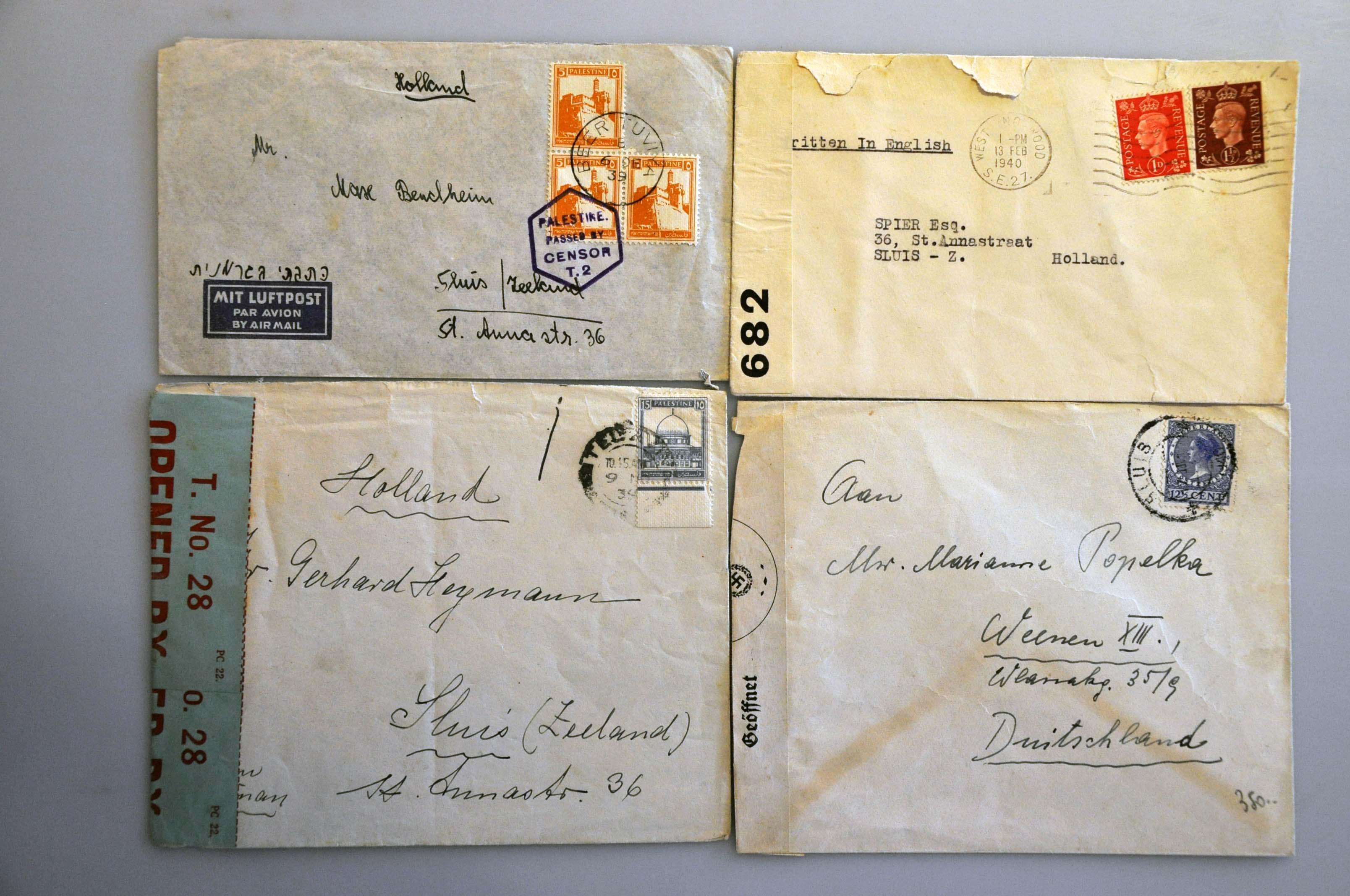 Lot 1005 - Topics and Miscellaneous world war ii -  Corinphila veilingen Auction 235: Postal History WW2 - The Stefan Drukker Collection
