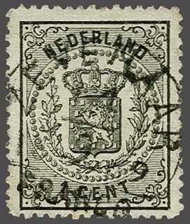Lot 264 - Netherlands and Former Territories NL 1869 Coat of Arms -  Corinphila veilingen Auction 233: General sale