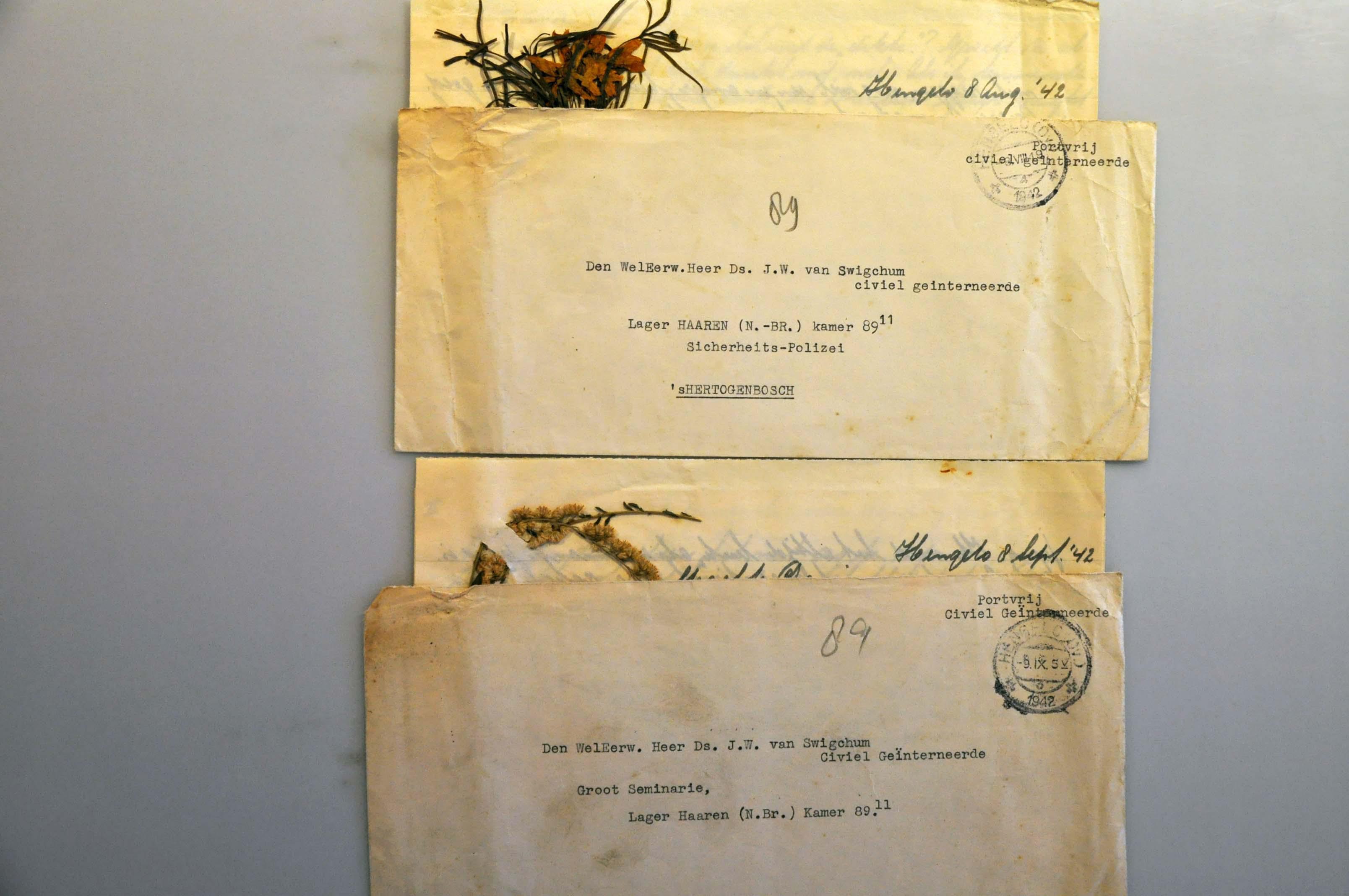 Lot 1011 - Topics and Miscellaneous world war ii -  Corinphila veilingen Auction 235: Postal History WW2 - The Stefan Drukker Collection
