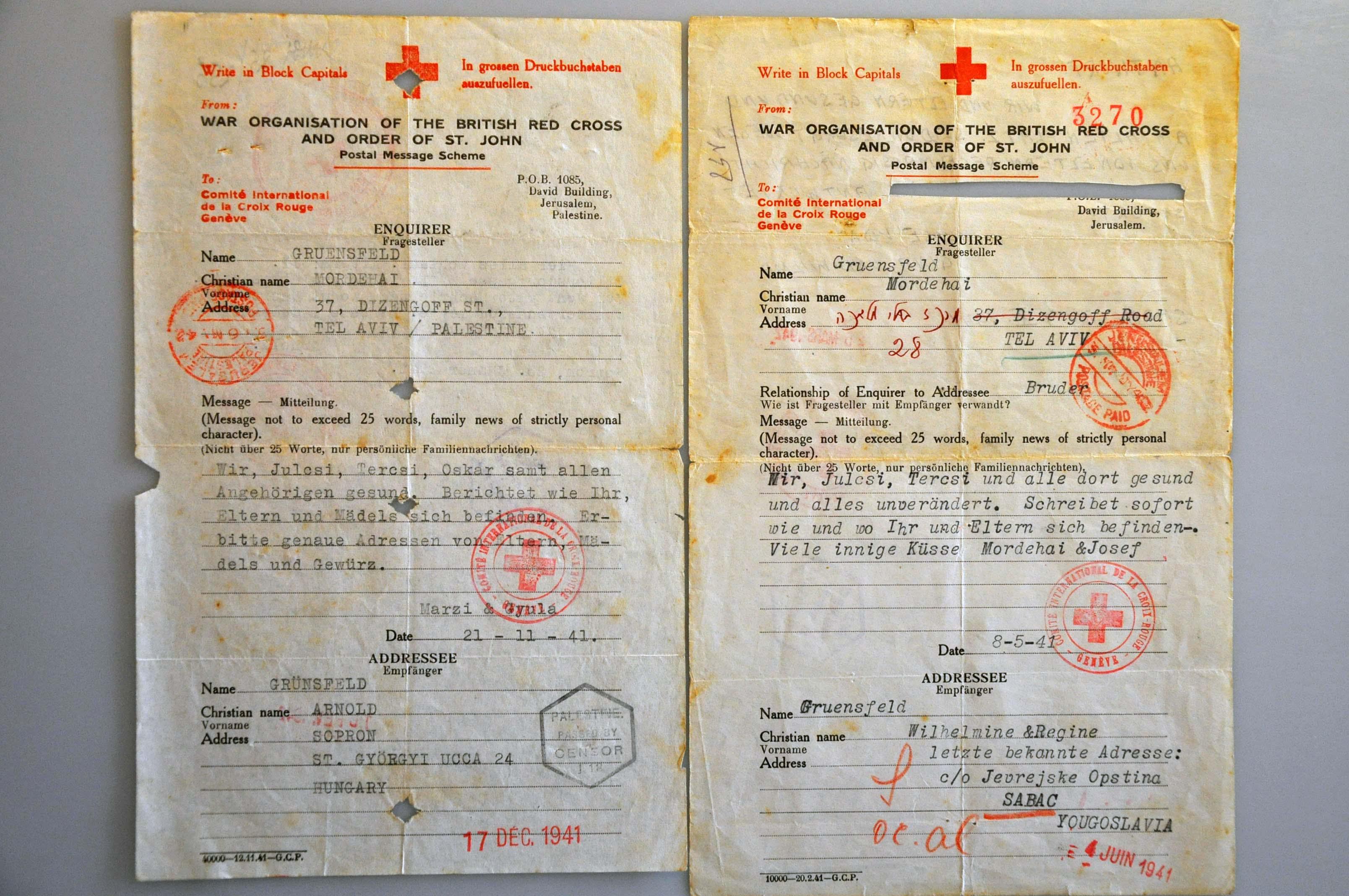 Lot 1000 - Topics and Miscellaneous world war II -  Corinphila veilingen Auction 235: Postal History WW2 - The Stefan Drukker Collection