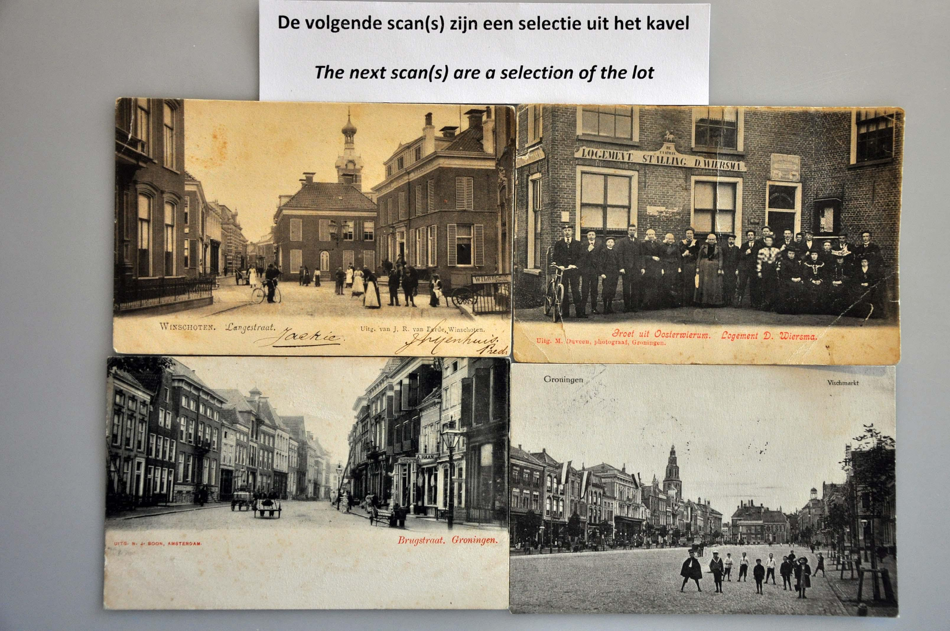 Lot 1810 - Netherlands and Former Territories NL Groningen -  Corinphila veilingen Auction 234: Coins and picture postcard auction