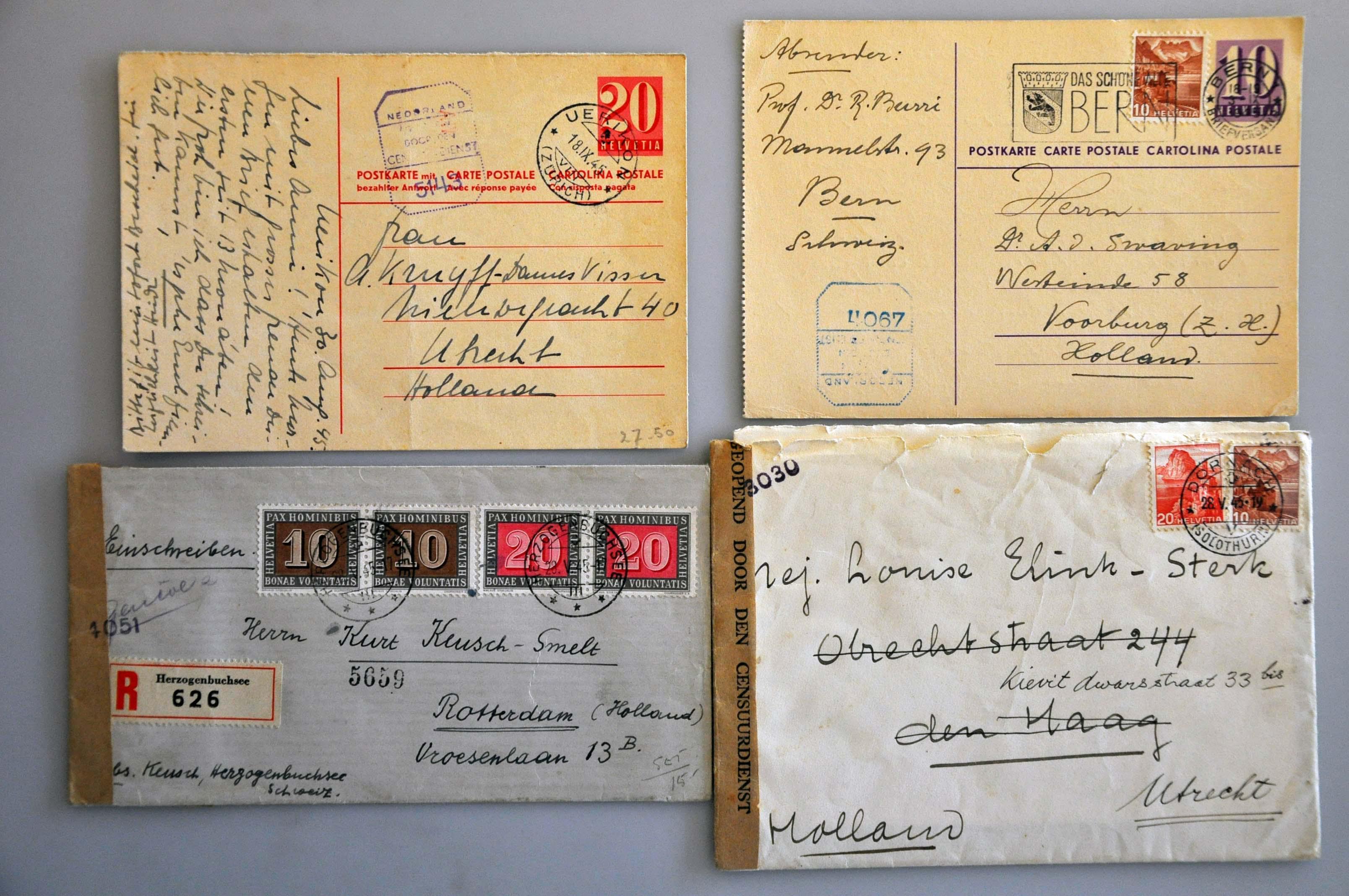Lot 1022 - Topics and Miscellaneous world war ii -  Corinphila veilingen Auction 235: Postal History WW2 - The Stefan Drukker Collection