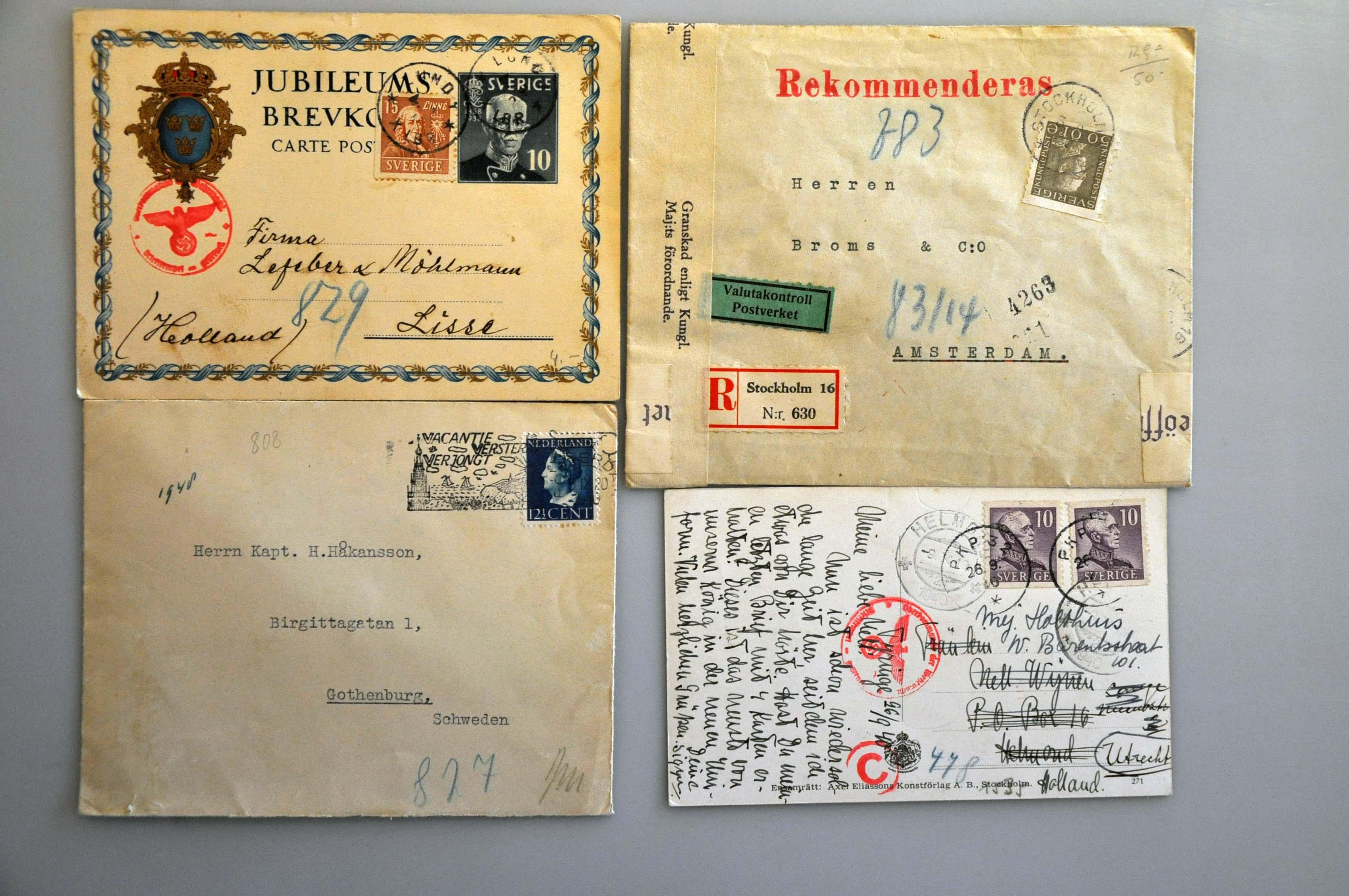 Lot 1021 - Topics and Miscellaneous world war ii -  Corinphila veilingen Auction 235: Postal History WW2 - The Stefan Drukker Collection