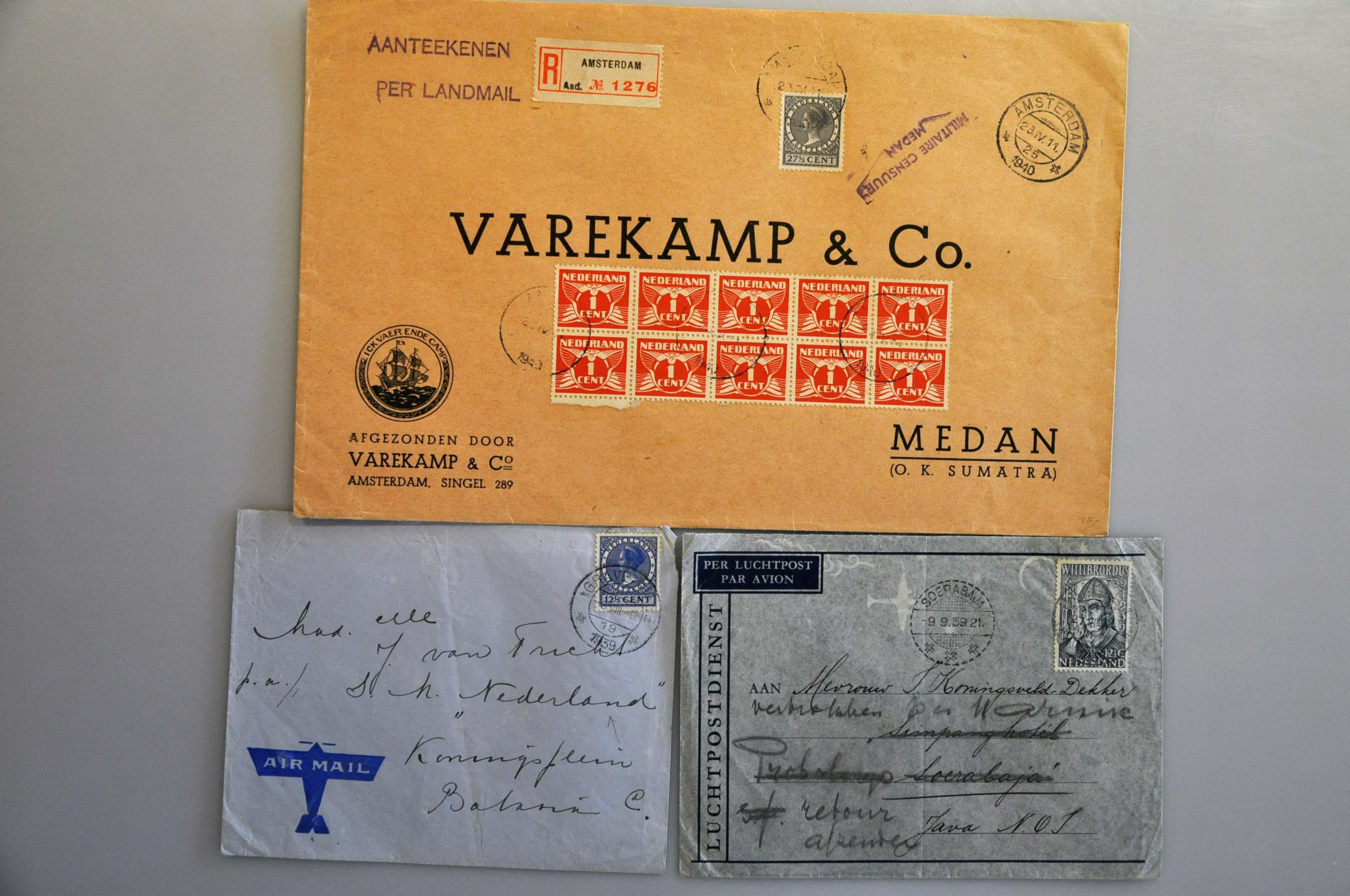 Lot 1013 - Topics and Miscellaneous world war ii -  Corinphila veilingen Auction 235: Postal History WW2 - The Stefan Drukker Collection