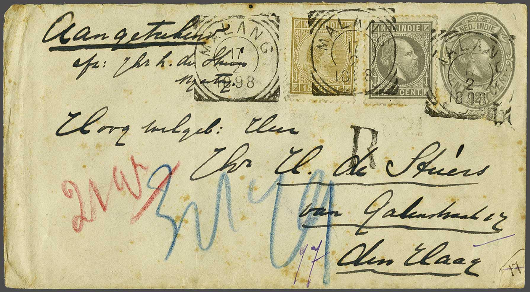 Lot 16 - Netherlands and Former Territories dutch east indies -  Corinphila veilingen Auction 236: Netherlands Colonies - The J.F. de Beaufort collection