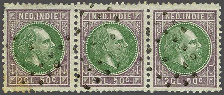 Lot 23 - Netherlands and Former Territories dutch east indies -  Corinphila veilingen Auction 236: Netherlands Colonies - The J.F. de Beaufort collection