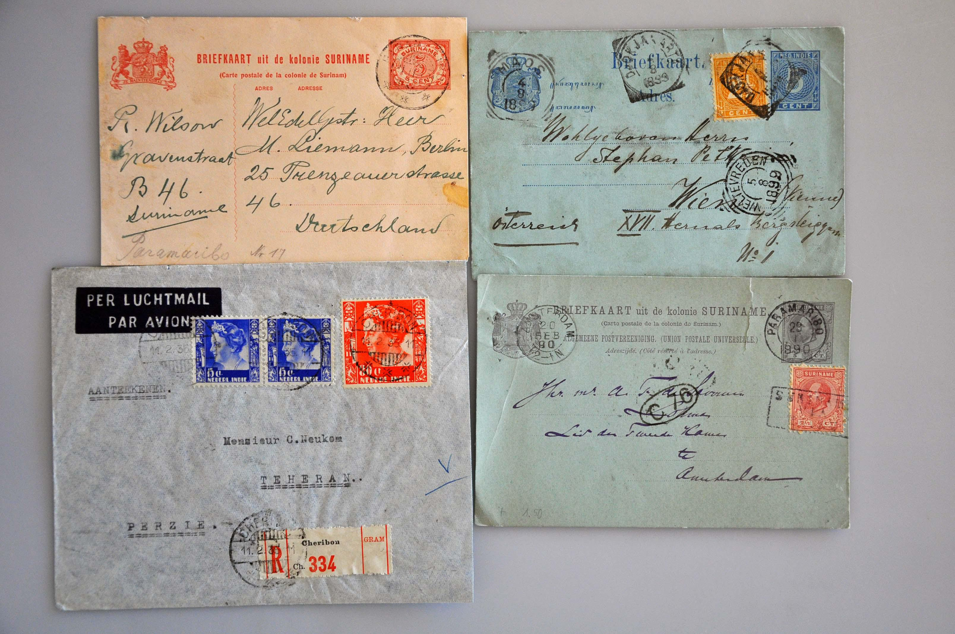 Lot 2047 - Netherlands and former colonies Netherlands and Former Territories -  Corinphila Veilingen Auction 237 Part 2: General sale