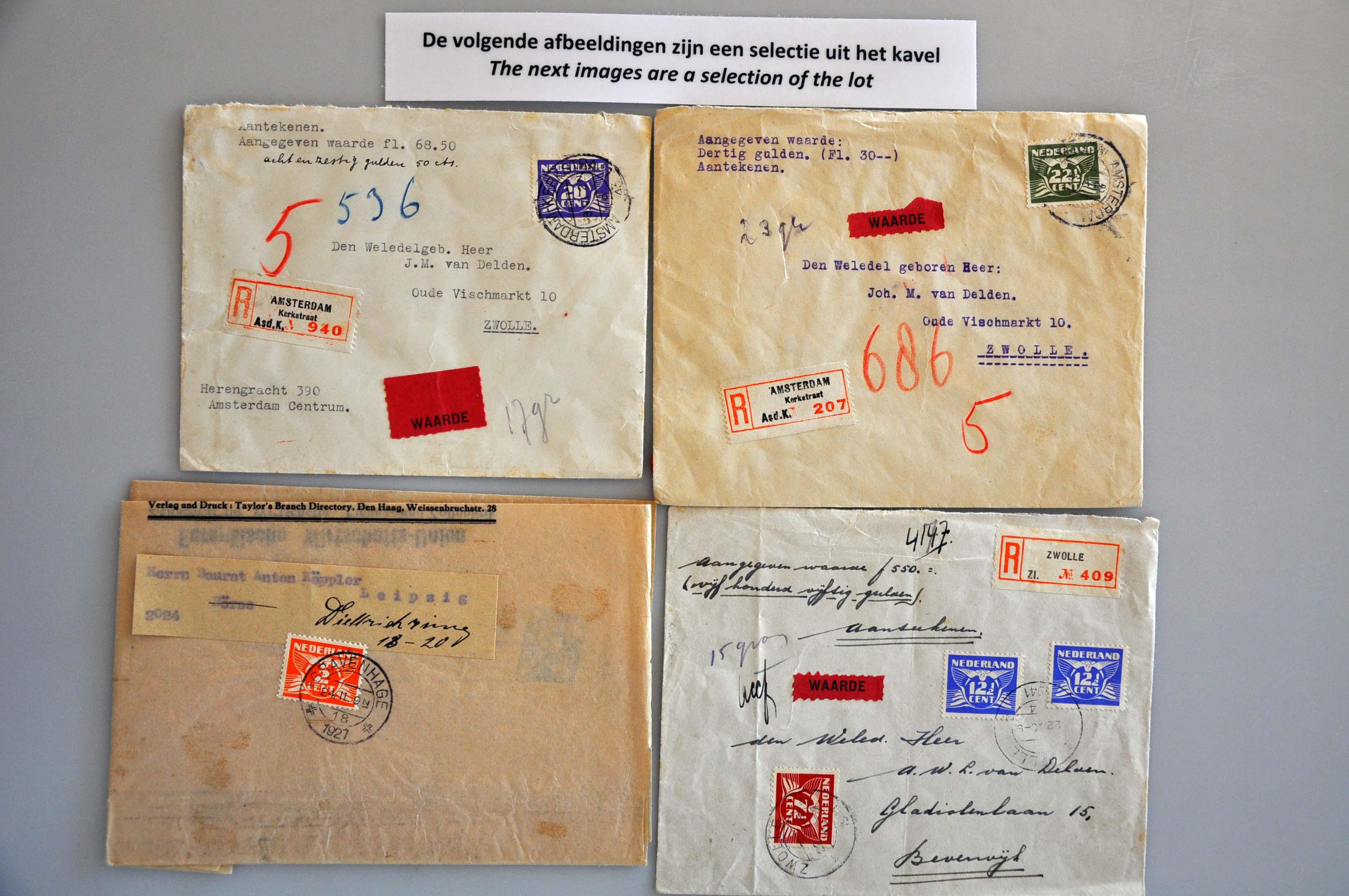 Lot 2037 - Netherlands and former colonies Netherlands -  Corinphila Veilingen Auction 237 Part 2: General sale