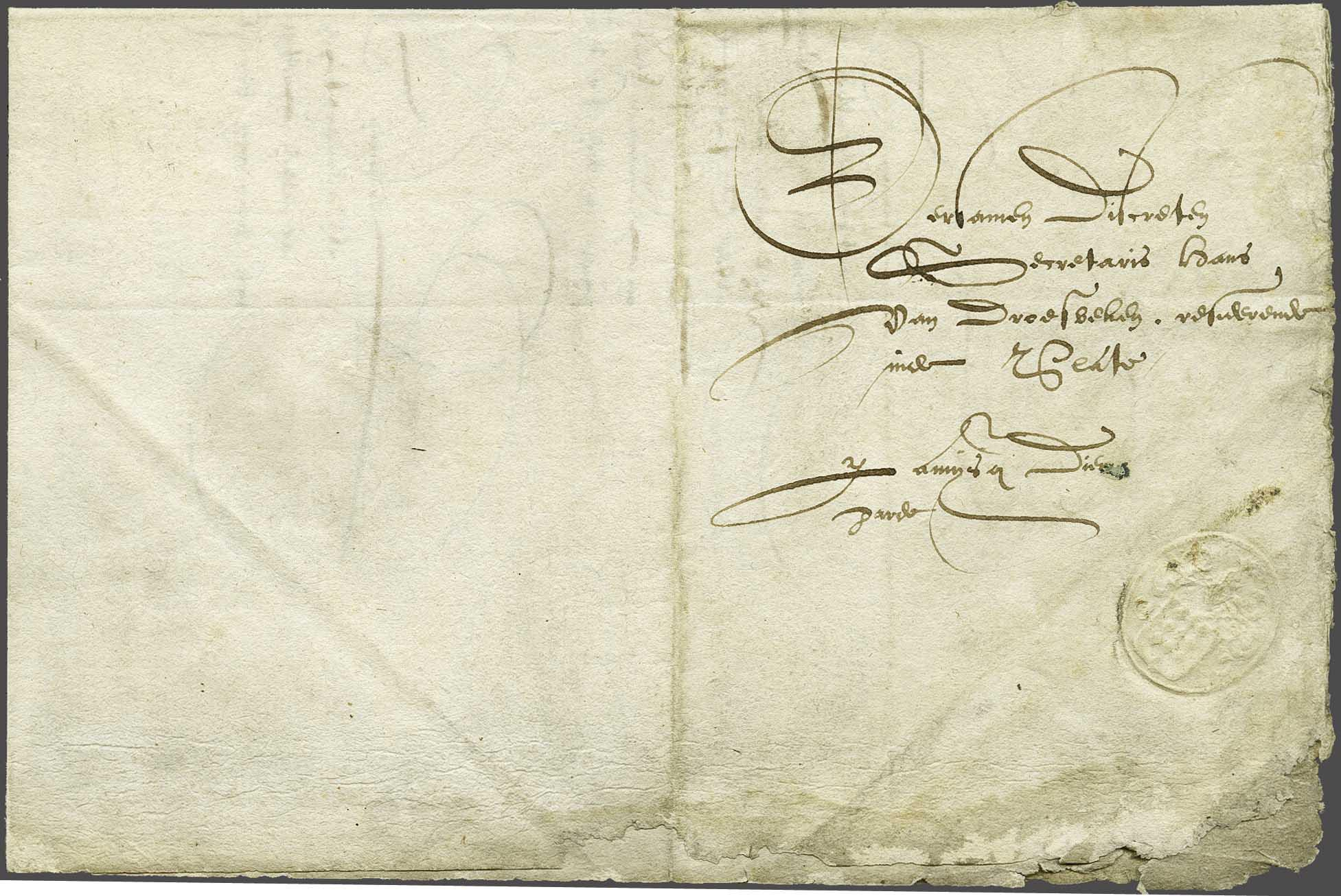 Lot 8 - Netherlands and former colonies Netherlands -  Corinphila Veilingen Auction 240: Pre-philately Netherlands and former colonies