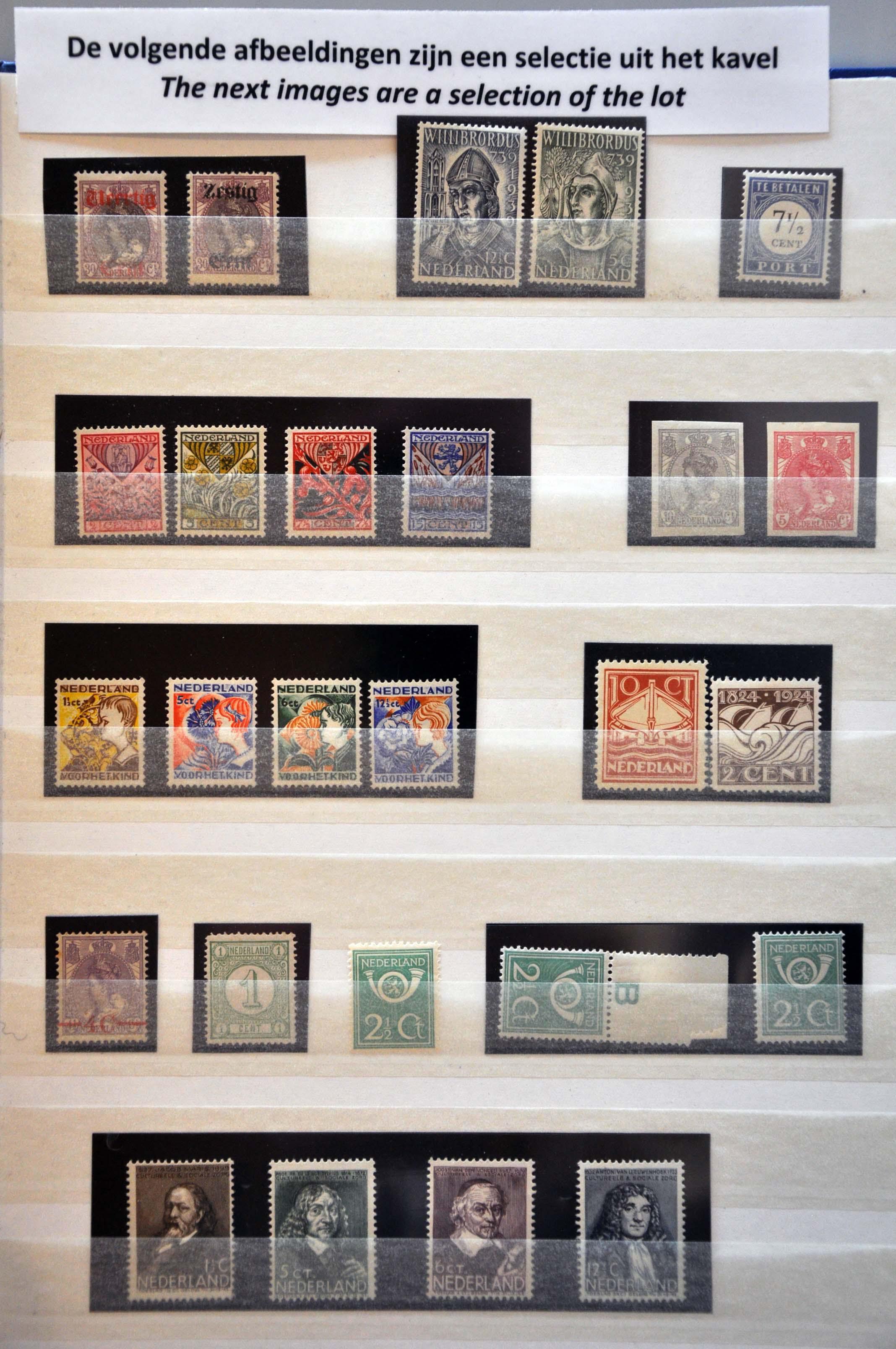 Lot 1593 - Netherlands and former colonies Netherlands -  Corinphila Veilingen Auction 239: General sale