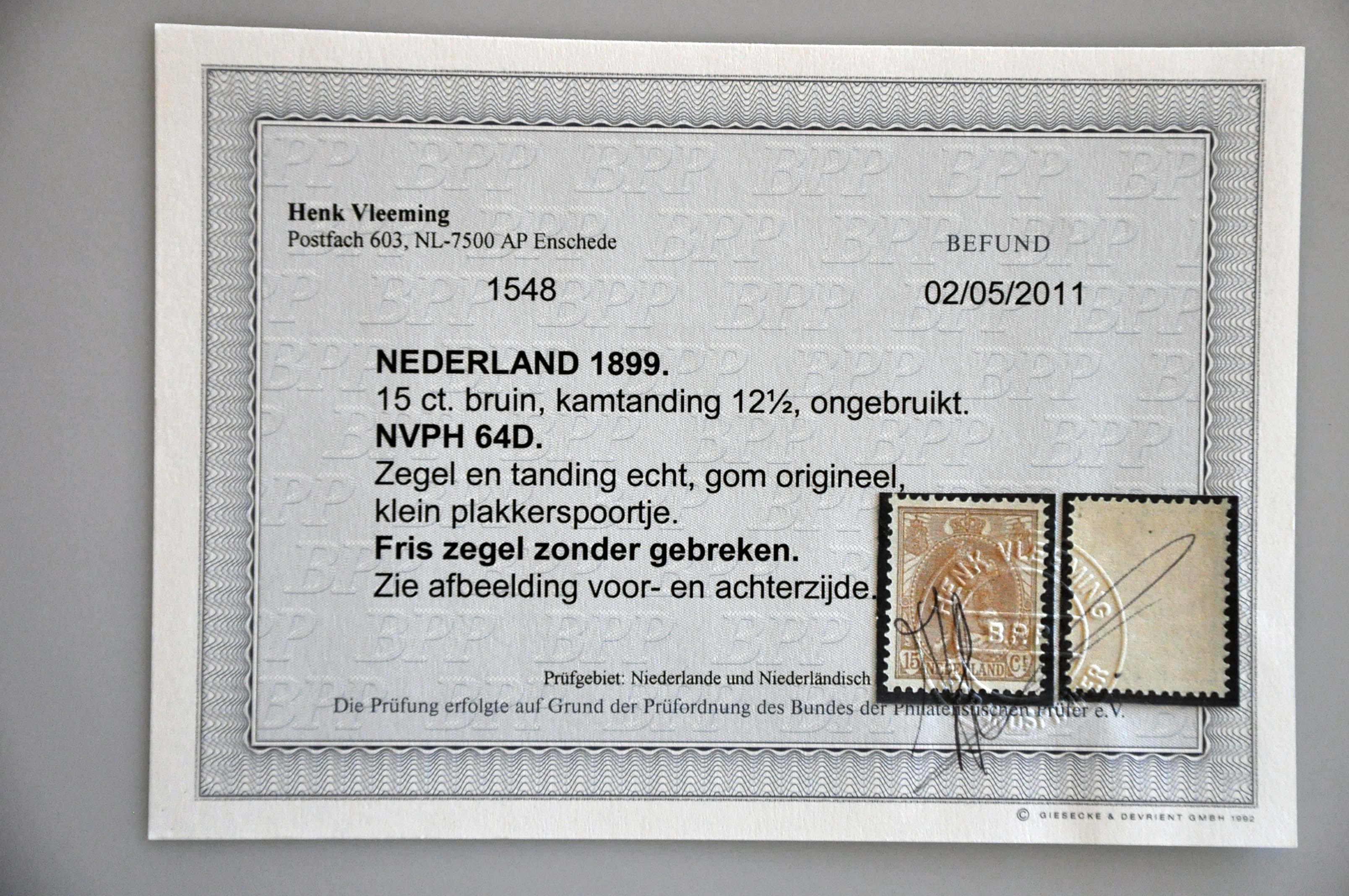 Lot 1470 - Netherlands and former colonies Netherlands -  Corinphila Veilingen Auction 239: General sale