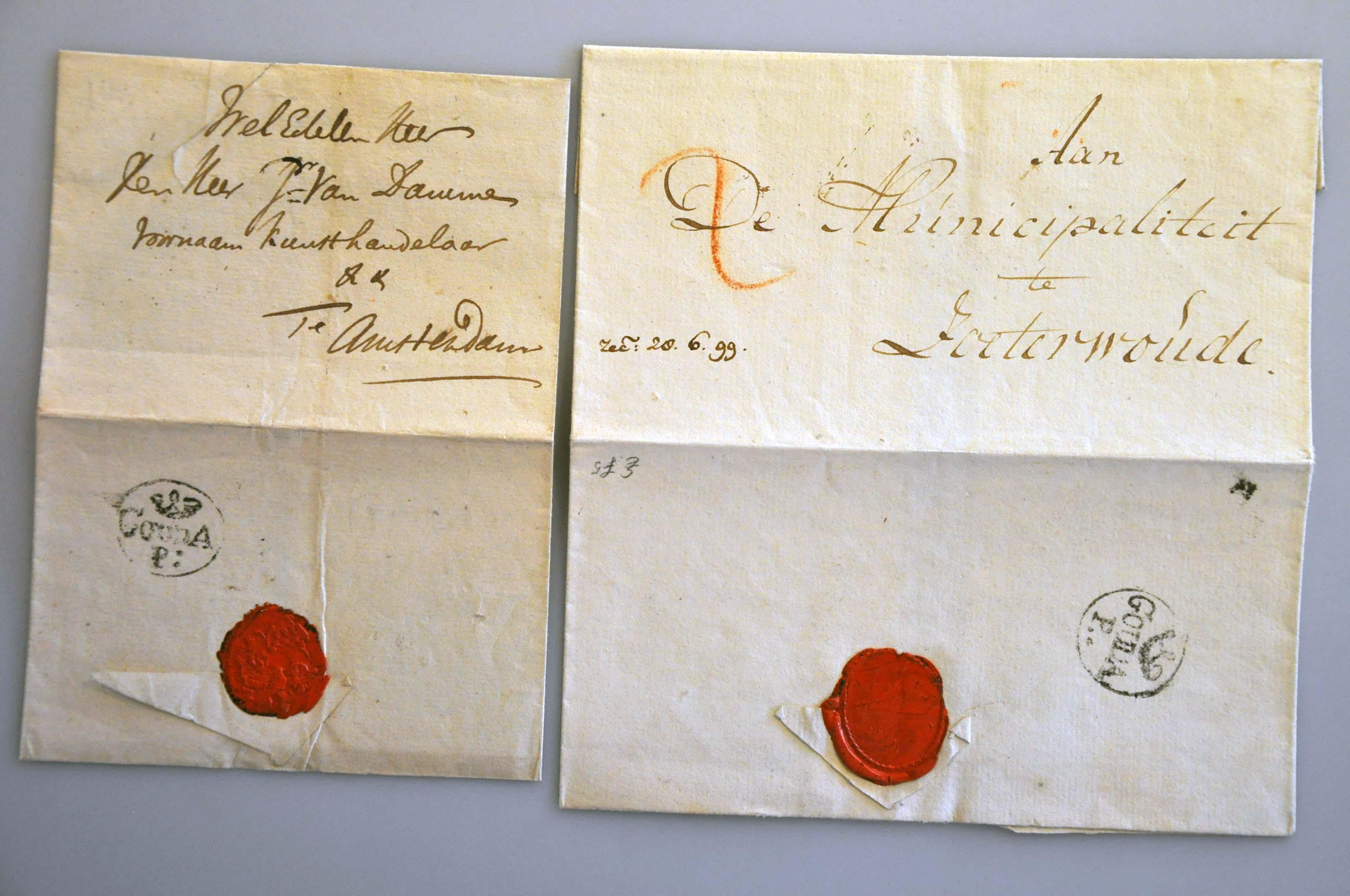 Lot 139 - Netherlands and former colonies Netherlands -  Corinphila Veilingen Auction 240: Pre-philately Netherlands and former colonies