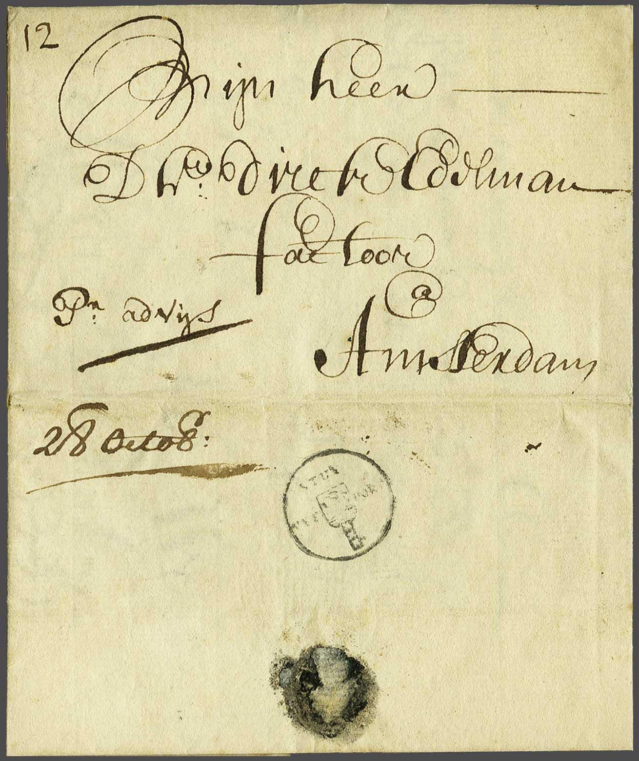 Lot 117 - Netherlands and former colonies Netherlands -  Corinphila Veilingen Auction 240: Pre-philately Netherlands and former colonies