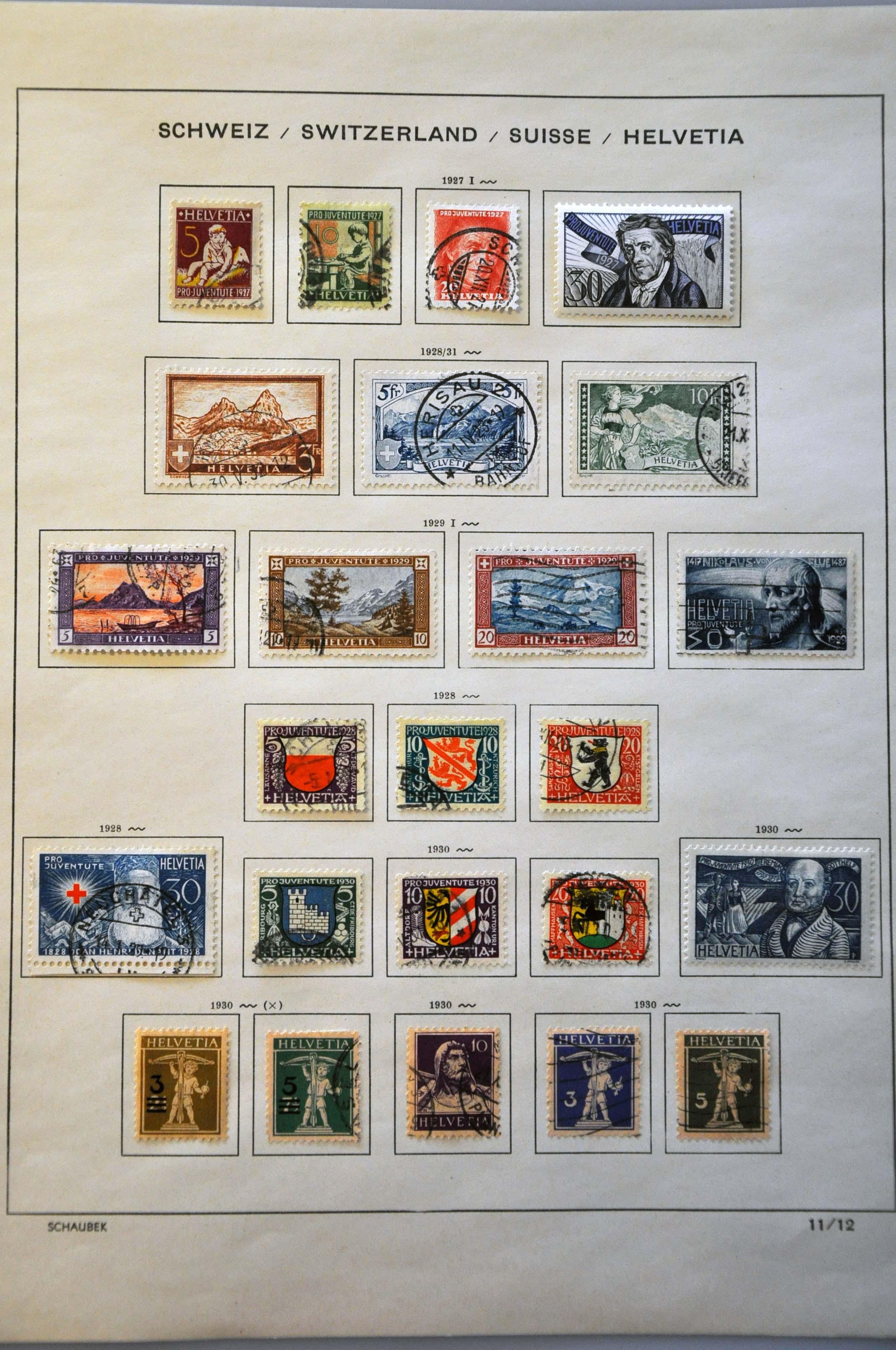 Lot 3799 - Switzerland Switzerland -  Corinphila Veilingen Auction 242: General sale