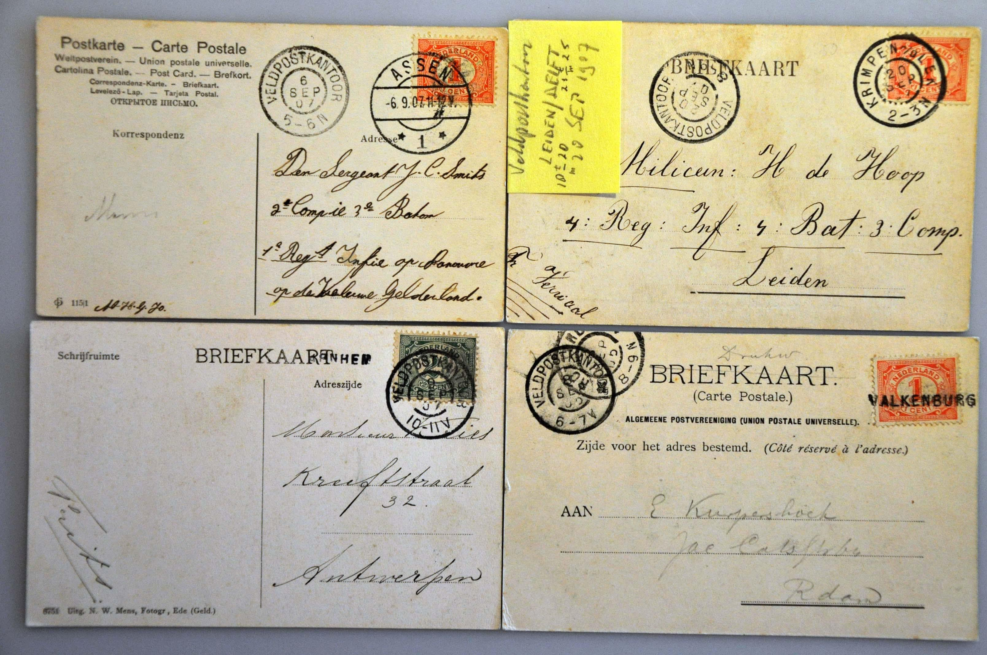 Lot 2315 - Netherlands and former colonies Netherlands -  Corinphila Veilingen Auction 244 -Netherlands and former colonies, WW2 Postal History, Bosnia, German and British colonies, Egypt. - Day 2
