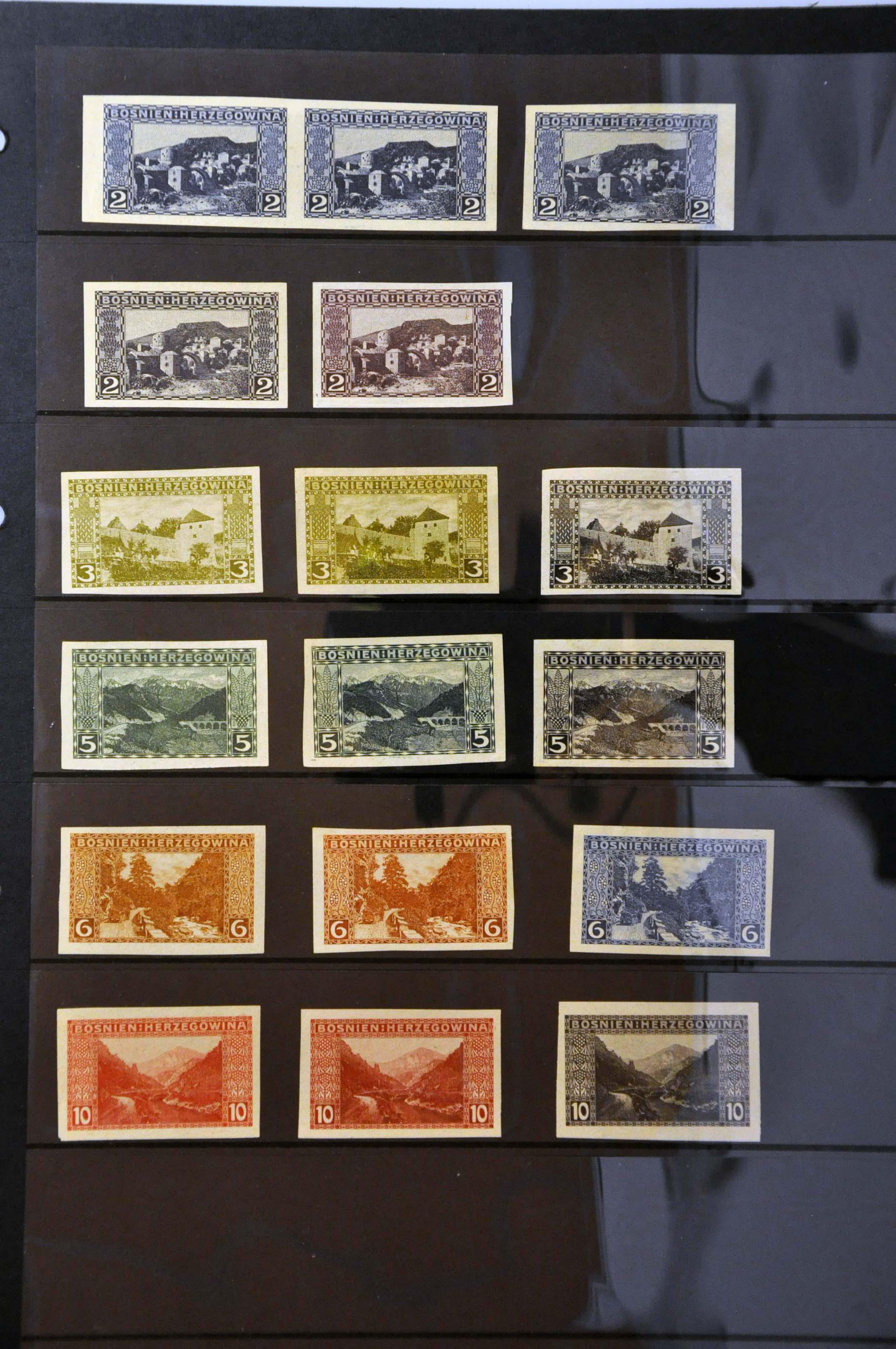 Lot 23 - Austria and former territories Bosnia and Herzegowina (Austrian) -  Corinphila Veilingen Auction 244 -Netherlands and former colonies, WW2 Postal History, Bosnia, German and British colonies, Egypt. - Day 1