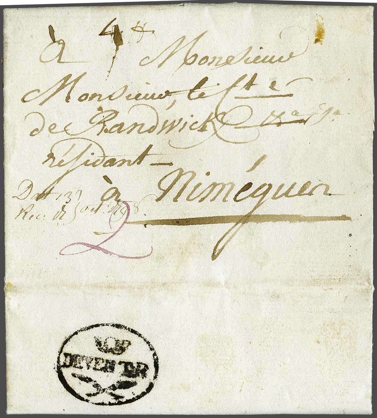 Lot 3021 - Netherlands and former colonies Netherlands -  Corinphila Veilingen Auction 244 -Netherlands and former colonies, WW2 Postal History, Bosnia, German and British colonies, Egypt. - Day 3