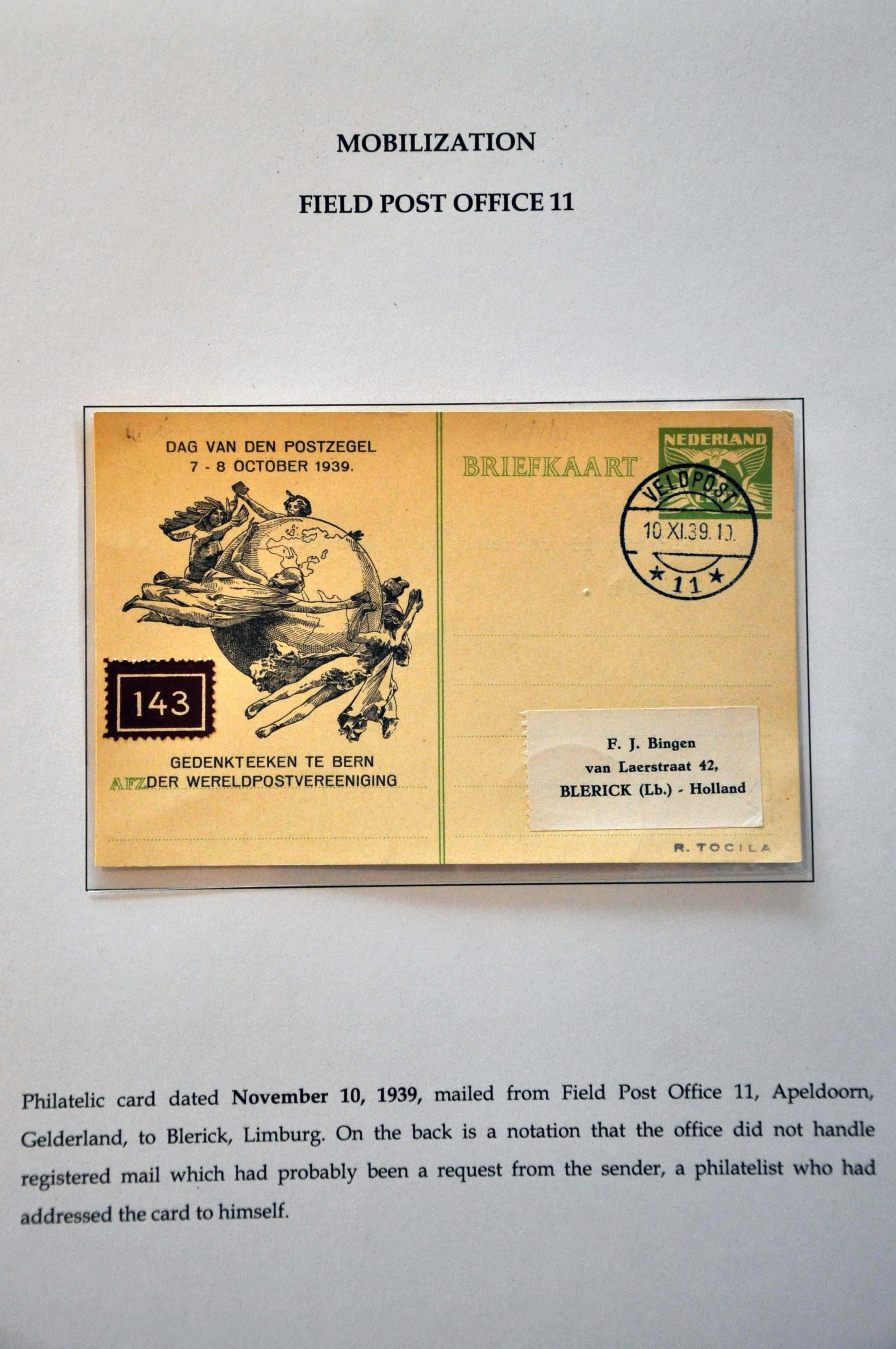 Lot 2800 - Netherlands and former colonies Netherlands -  Corinphila Veilingen Auction 244 -Netherlands and former colonies, WW2 Postal History, Bosnia, German and British colonies, Egypt. - Day 3