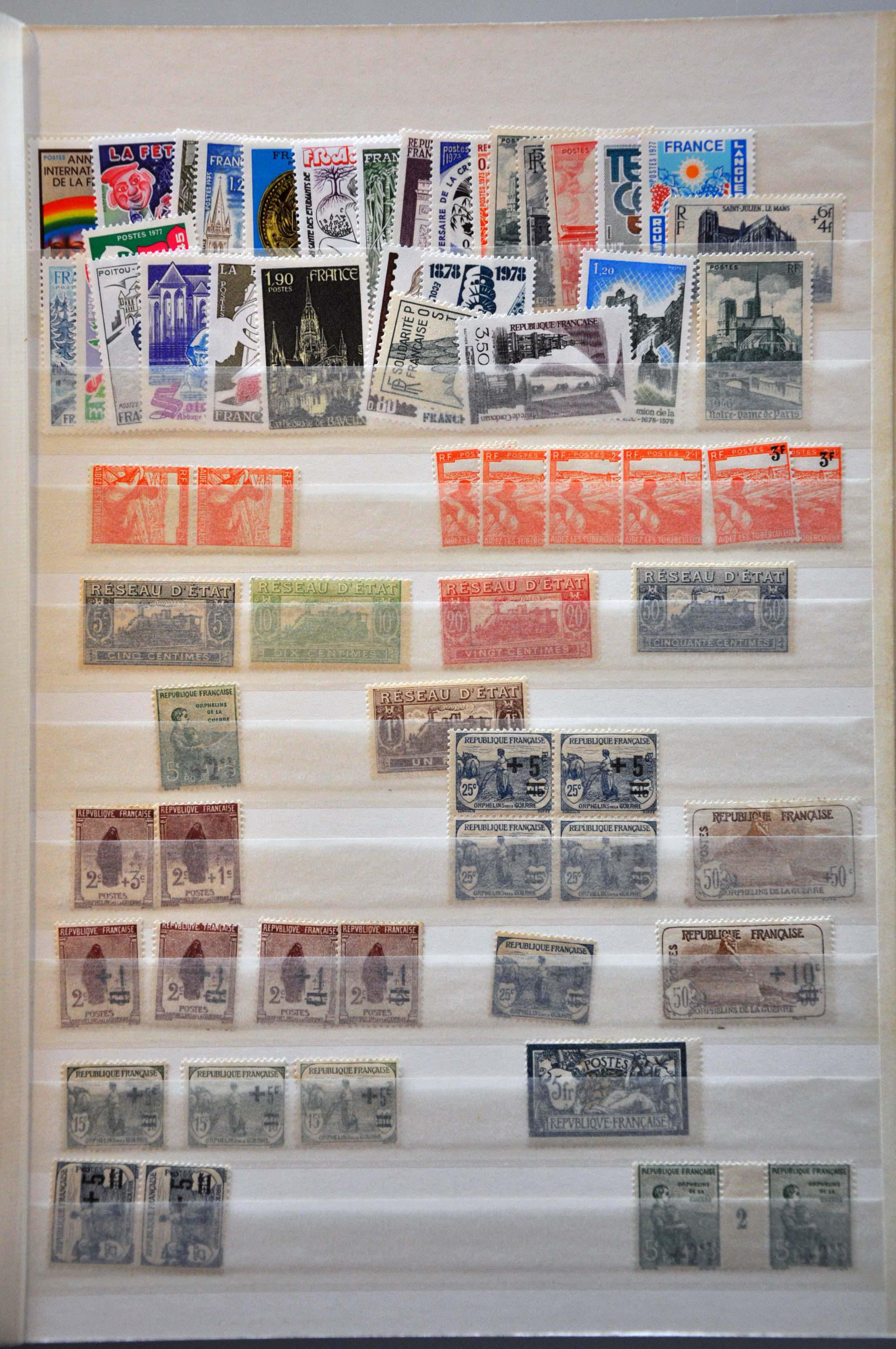 Lot 531 - France and former colonies France -  Corinphila Veilingen Auction 244 -Netherlands and former colonies, WW2 Postal History, Bosnia, German and British colonies, Egypt. - Day 1