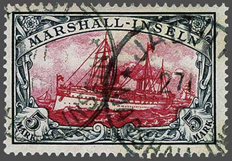 Lot 144 - Germany and former colonies marshall islands -  Corinphila Veilingen Auction 244 -Netherlands and former colonies, WW2 Postal History, Bosnia, German and British colonies, Egypt. - Day 1