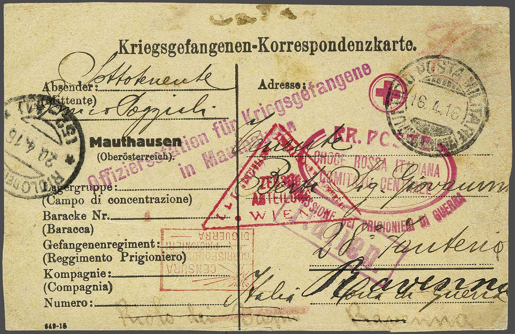 Lot 2 - Austria and former territories Austria -  Corinphila Veilingen Auction 244 -Netherlands and former colonies, WW2 Postal History, Bosnia, German and British colonies, Egypt. - Day 1