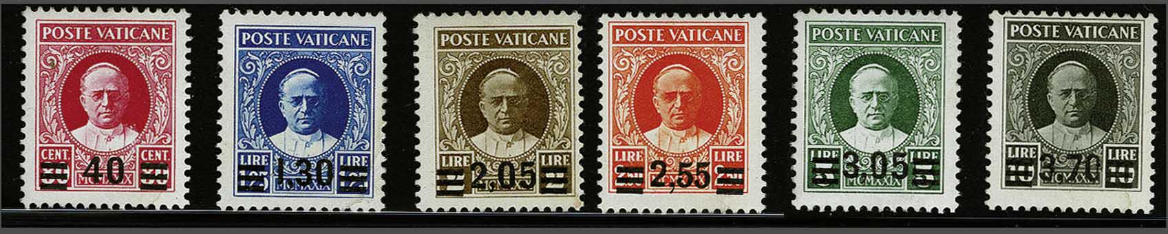 Lot 188 - Italy and former colonies Vatican City -  Corinphila Veilingen Auction 244 -Netherlands and former colonies, WW2 Postal History, Bosnia, German and British colonies, Egypt. - Day 1