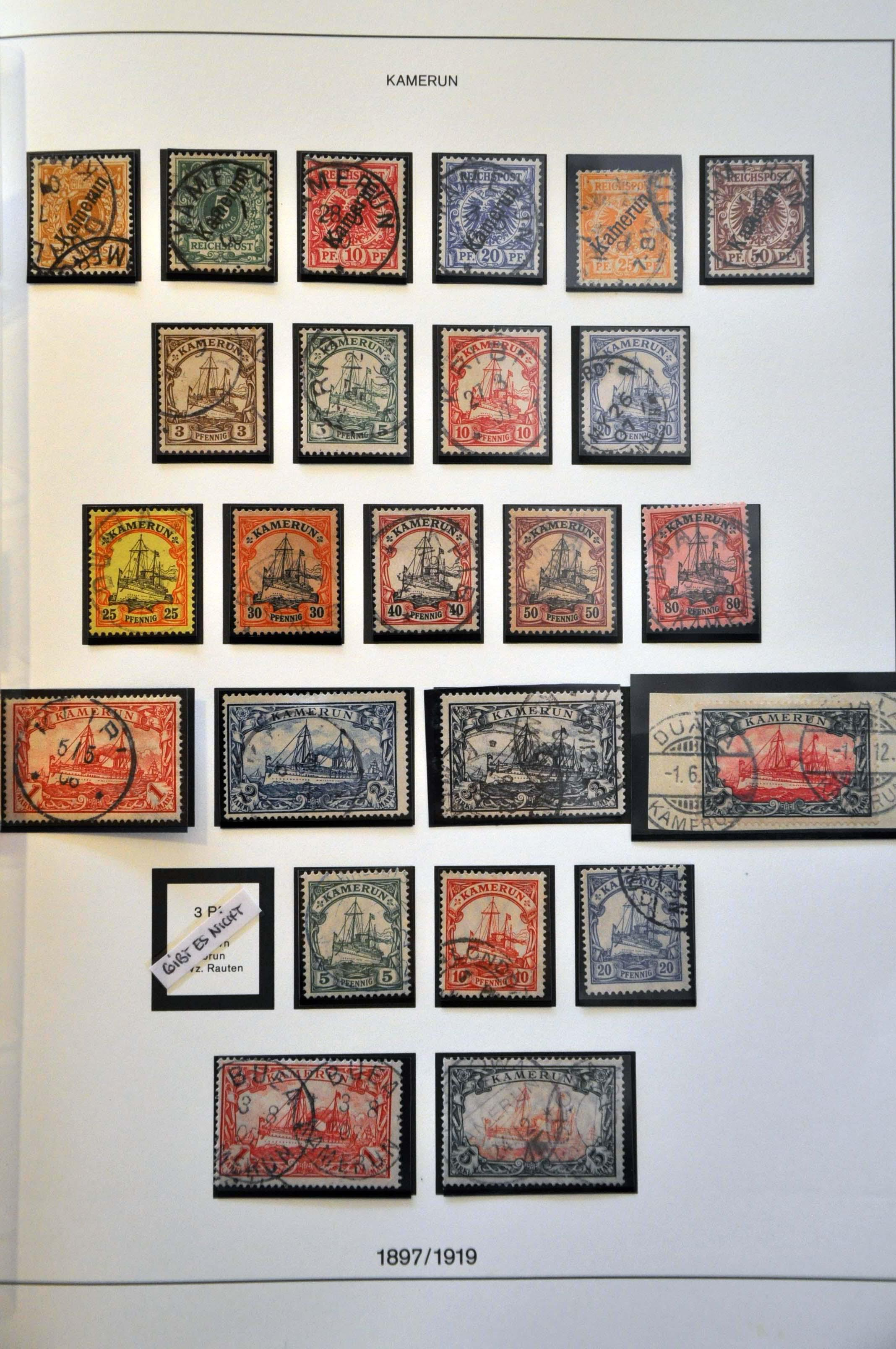 Lot 624 - Germany and former colonies German Colonies and Foreign Post Offices -  Corinphila Veilingen Auction 244 -Netherlands and former colonies, WW2 Postal History, Bosnia, German and British colonies, Egypt. - Day 1
