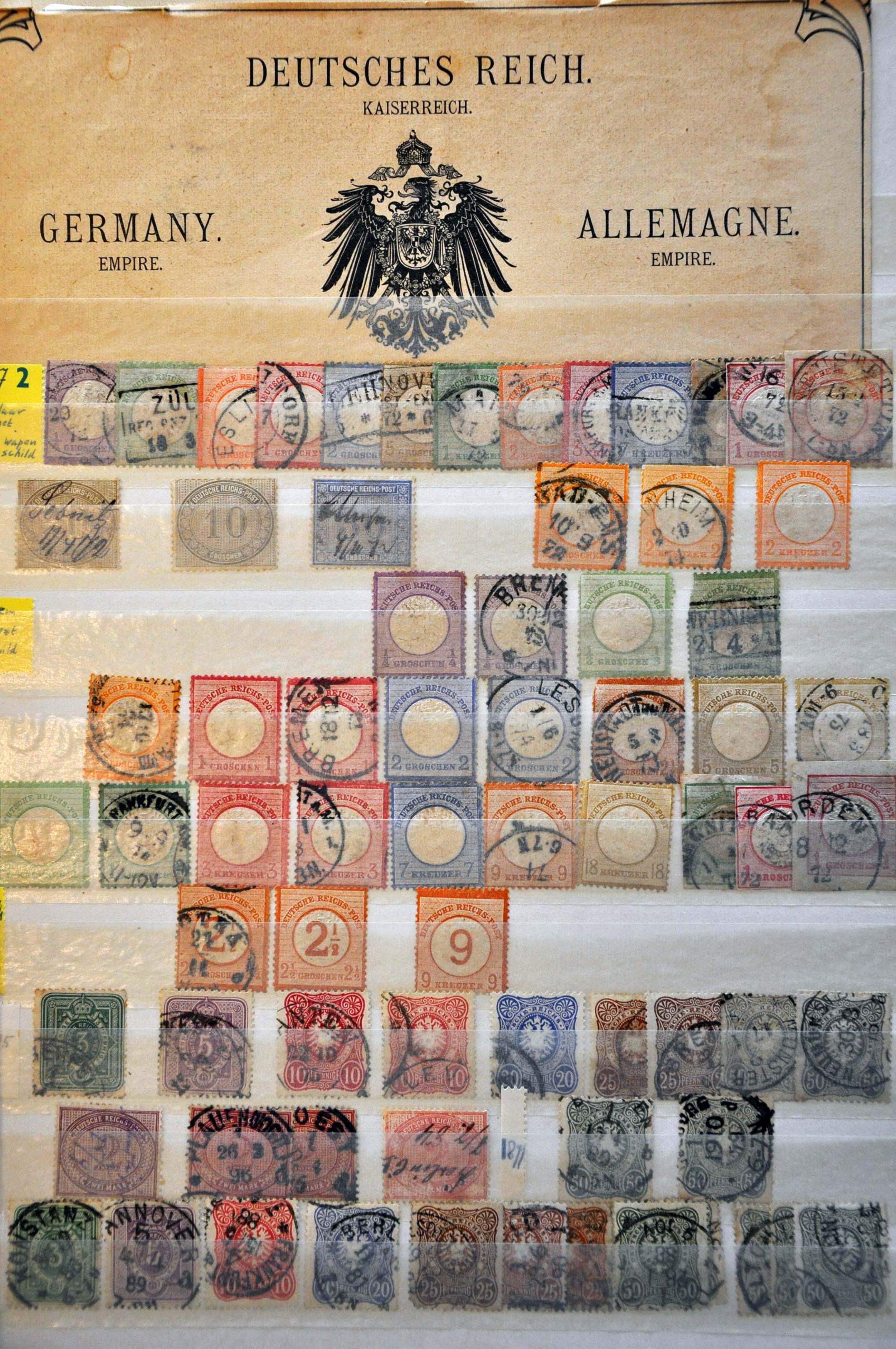 Lot 590 - Germany and former colonies german states -  Corinphila Veilingen Auction 244 -Netherlands and former colonies, WW2 Postal History, Bosnia, German and British colonies, Egypt. - Day 1