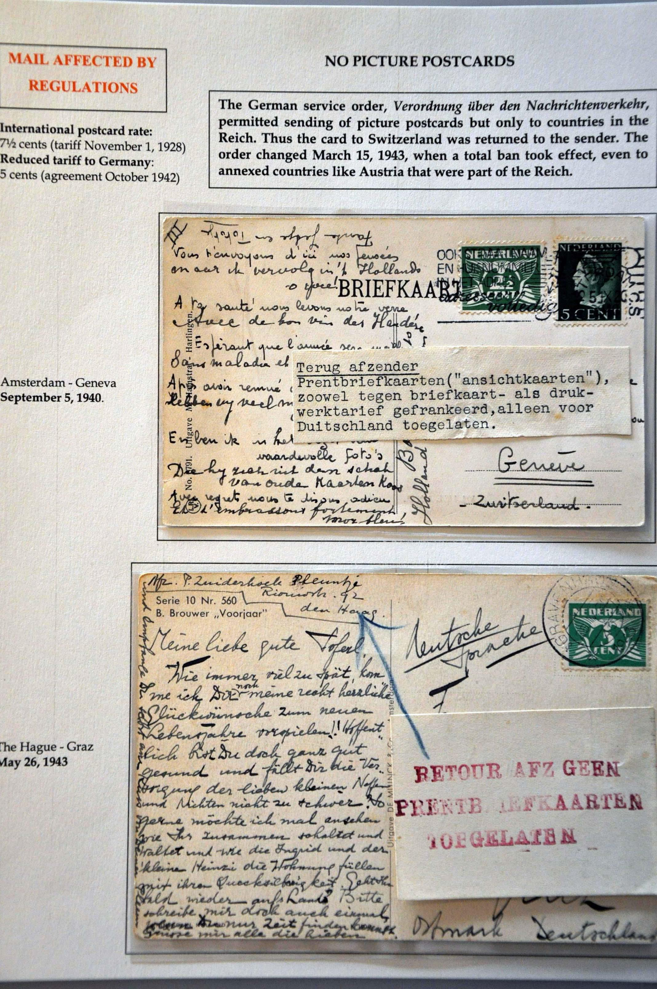 Lot 2819 - Netherlands and former colonies Netherlands -  Corinphila Veilingen Auction 244 -Netherlands and former colonies, WW2 Postal History, Bosnia, German and British colonies, Egypt. - Day 3