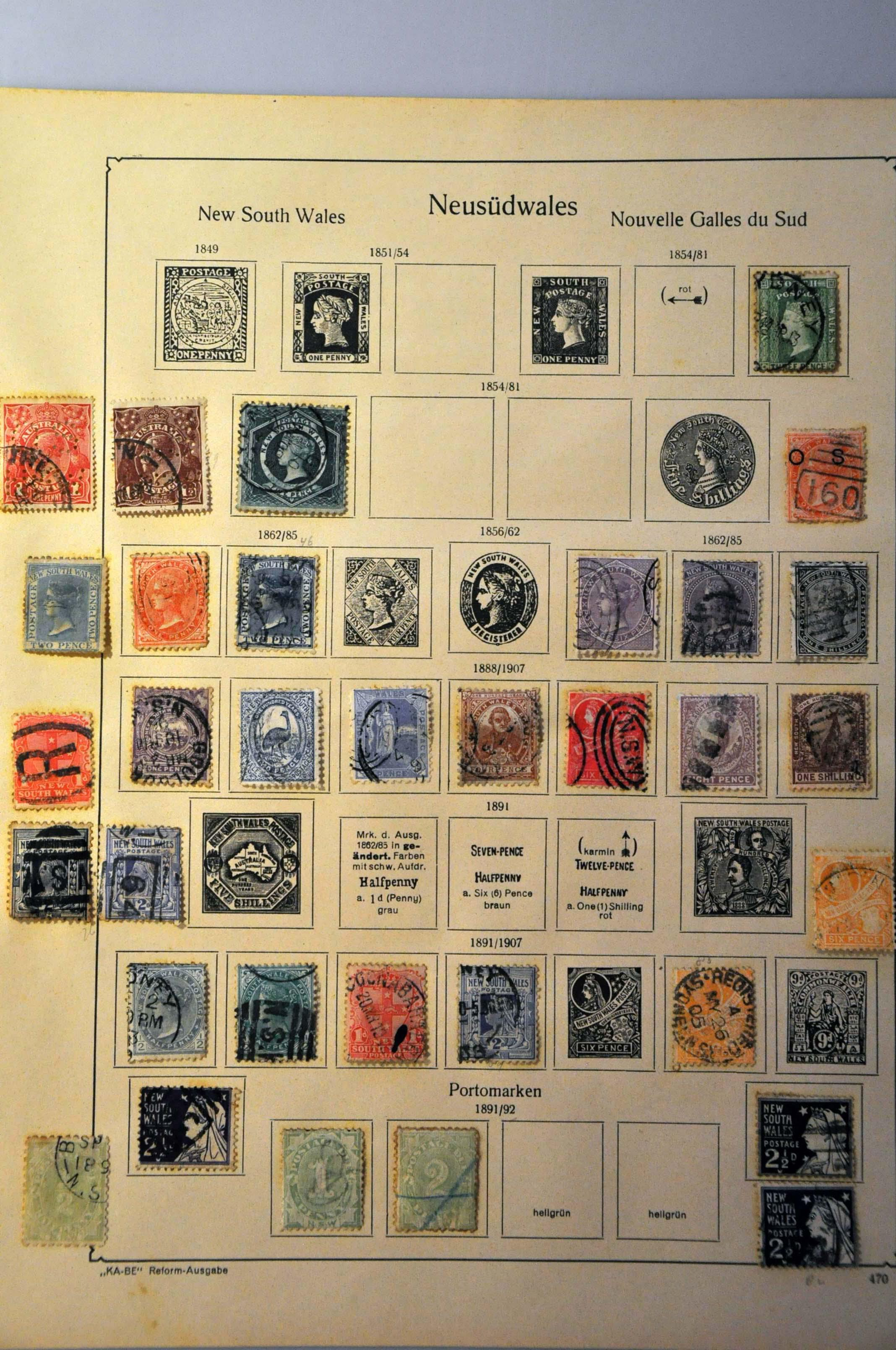 Lot 1075 - various countries world collections -  Corinphila Veilingen Auction 244 -Netherlands and former colonies, WW2 Postal History, Bosnia, German and British colonies, Egypt. - Day 1