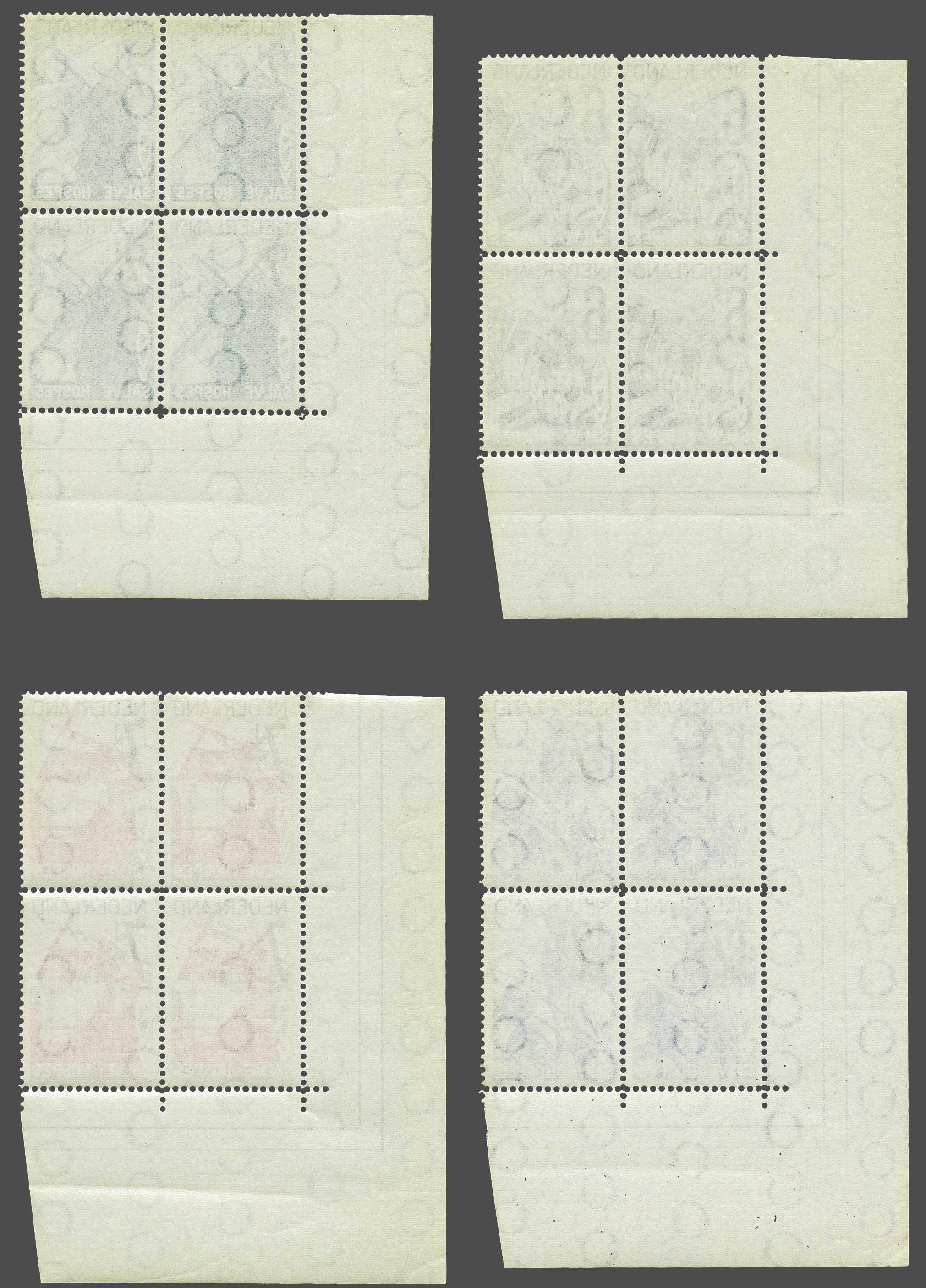 Lot 3585 - Netherlands and former colonies Netherlands -  Corinphila Veilingen Auction 244 -Netherlands and former colonies, WW2 Postal History, Bosnia, German and British colonies, Egypt. - Day 3
