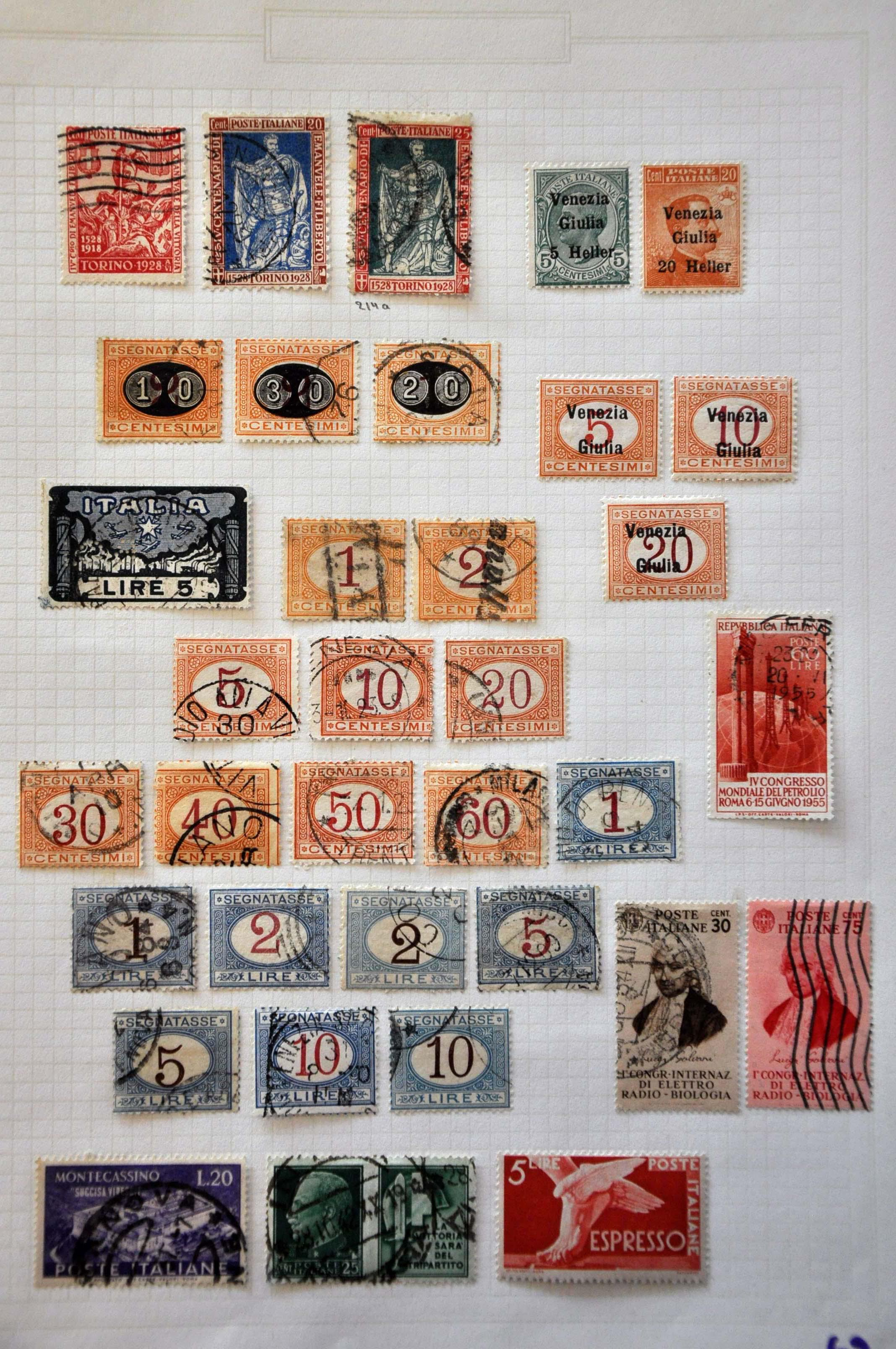 Lot 1081 - various countries world collections -  Corinphila Veilingen Auction 244 -Netherlands and former colonies, WW2 Postal History, Bosnia, German and British colonies, Egypt. - Day 1