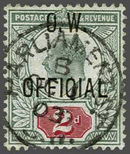 Lot 166 - Great Britain and former colonies Great Britain -  Corinphila Veilingen Auction 244 -Netherlands and former colonies, WW2 Postal History, Bosnia, German and British colonies, Egypt. - Day 1